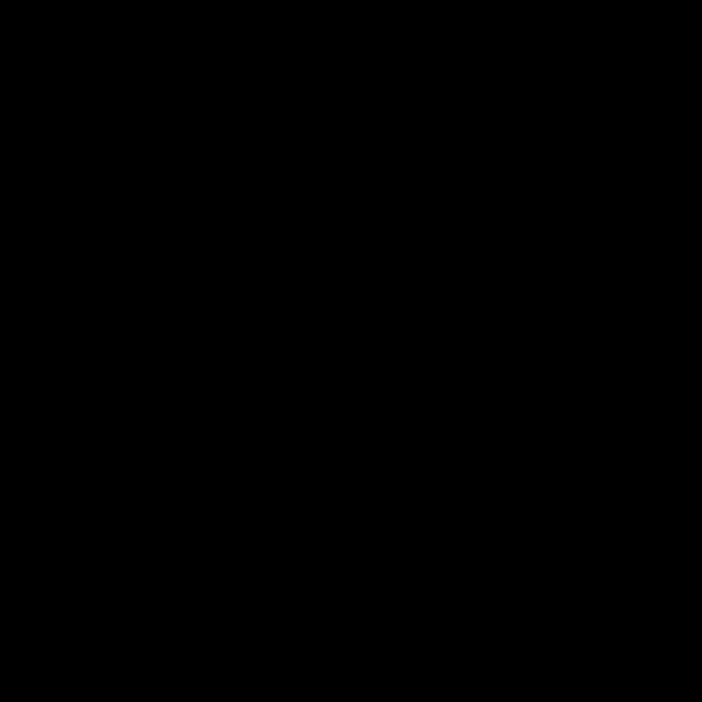 1024x1024 Black Solid Color Background
