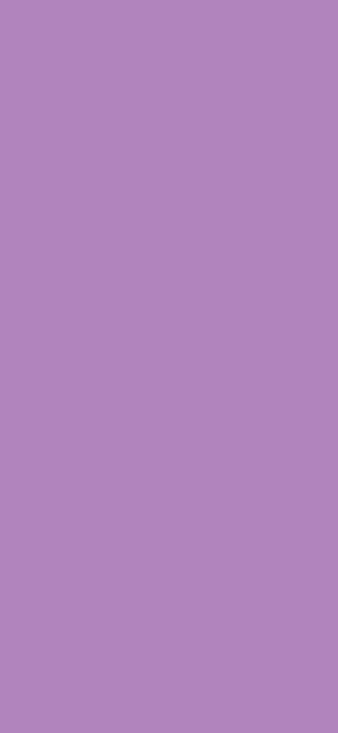 1125x2436 African Violet Solid Color Background