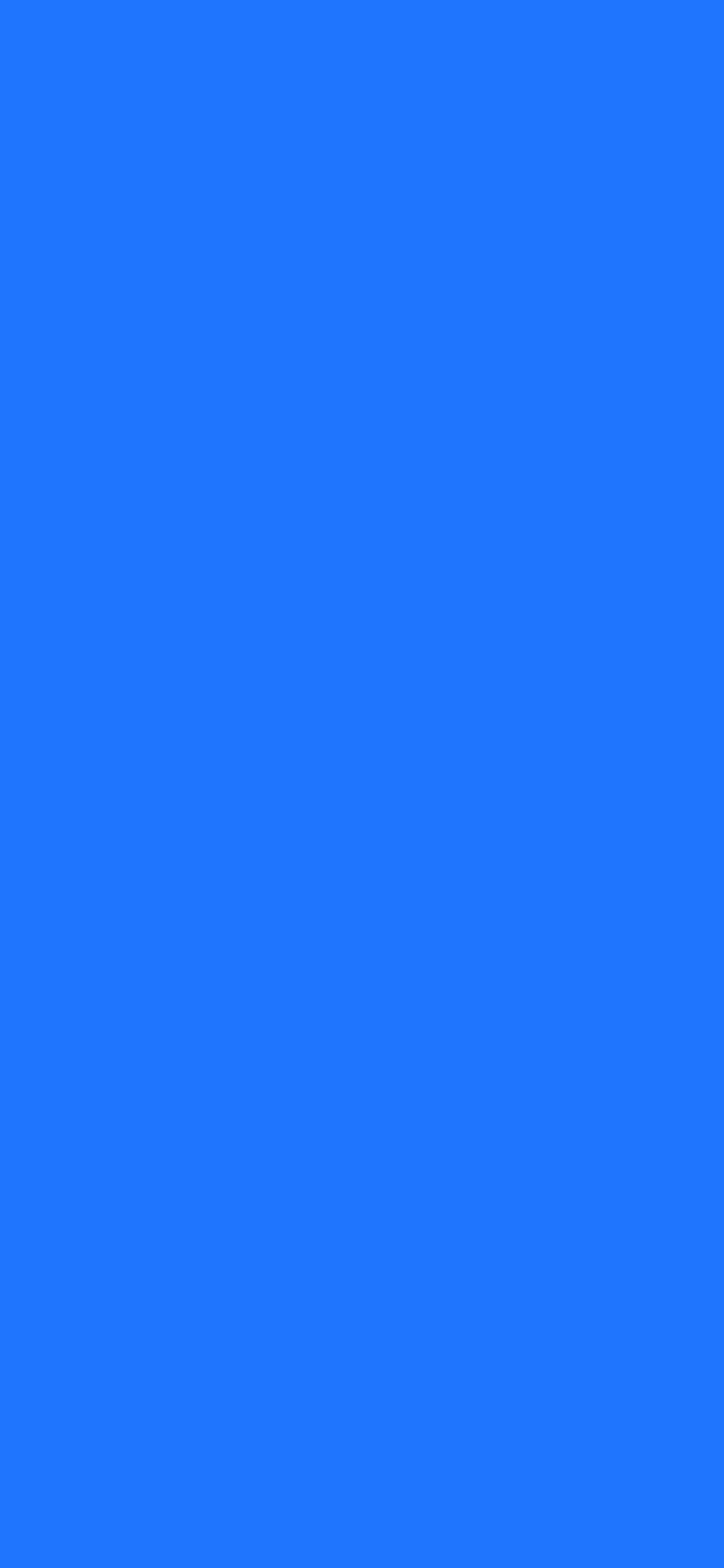 1125x2436 Blue Crayola Solid Color Background