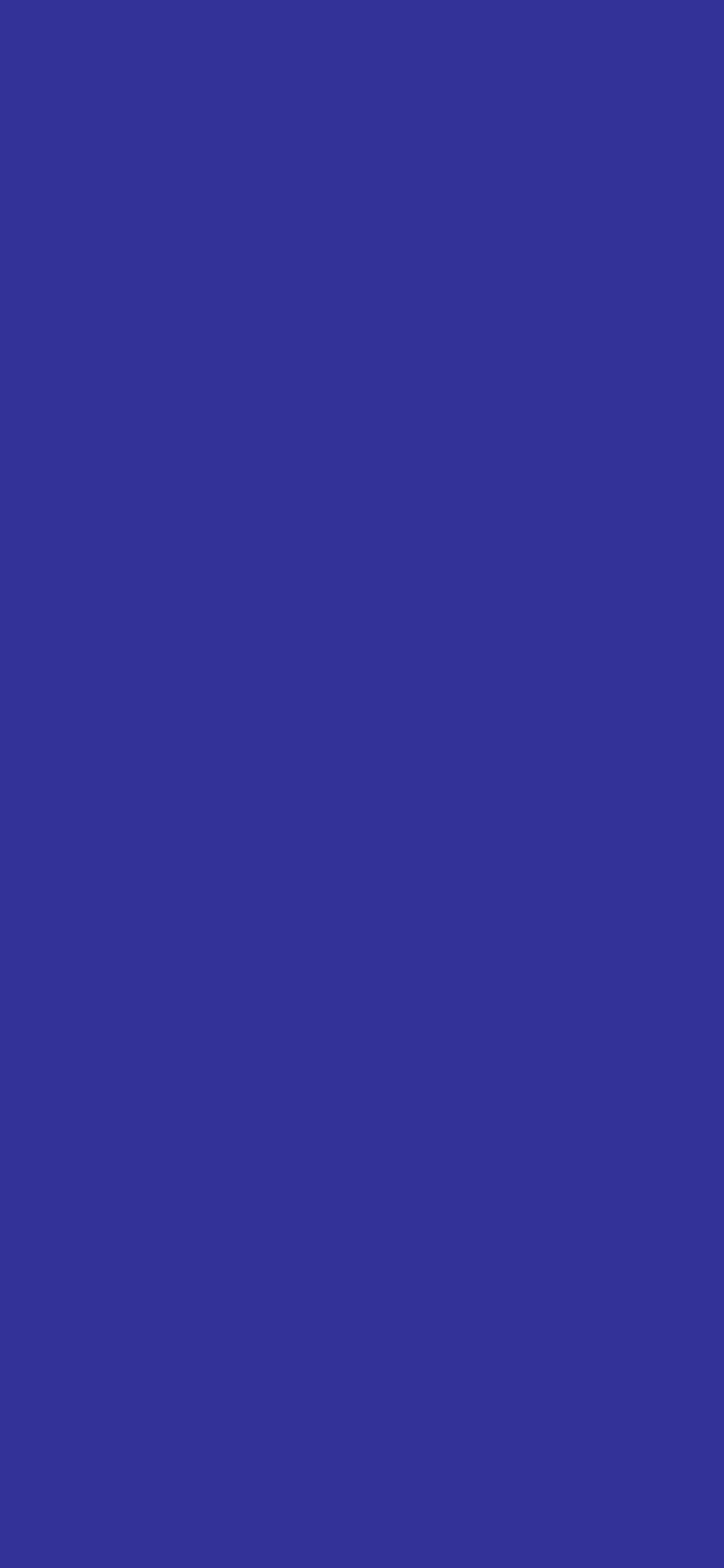 1125x2436 Blue Pigment Solid Color Background