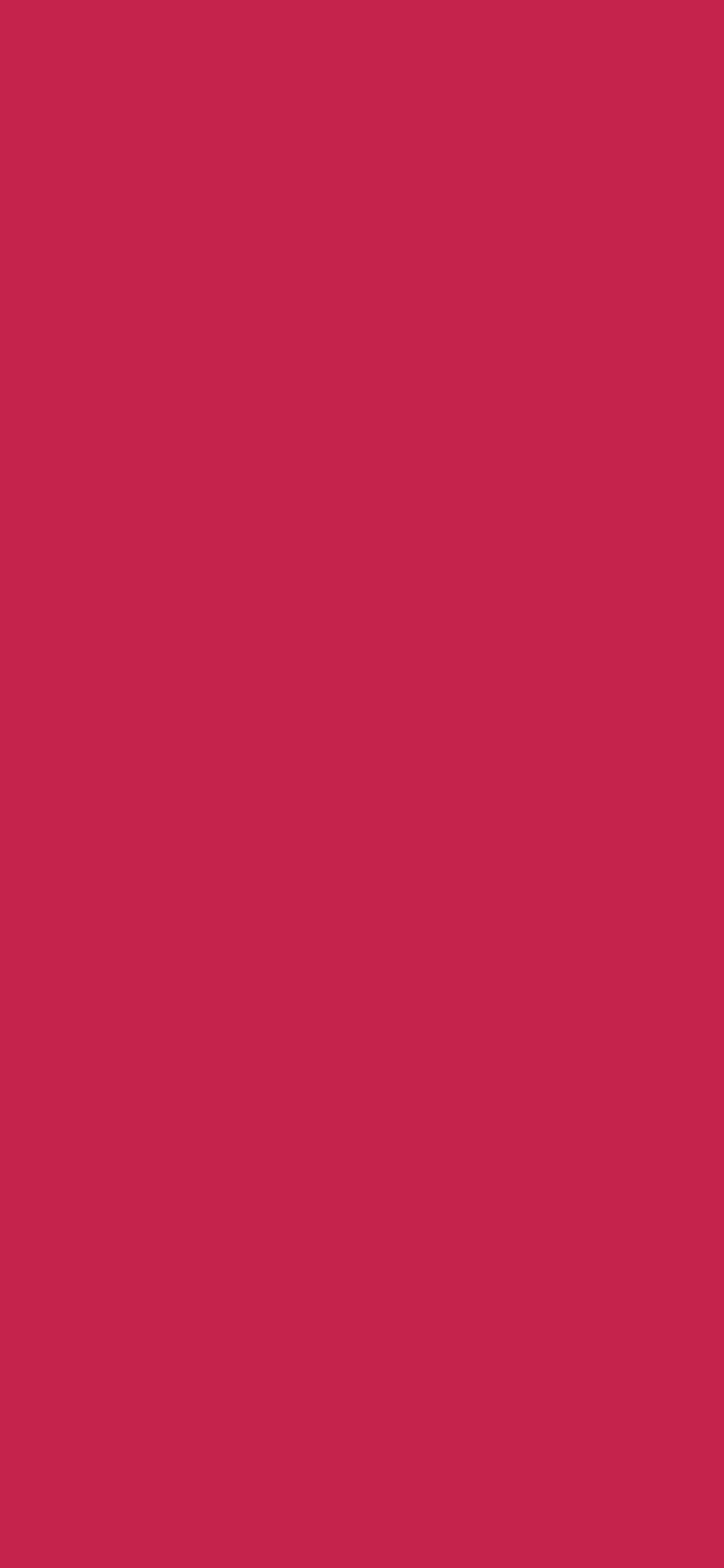 1125x2436 Bright Maroon Solid Color Background