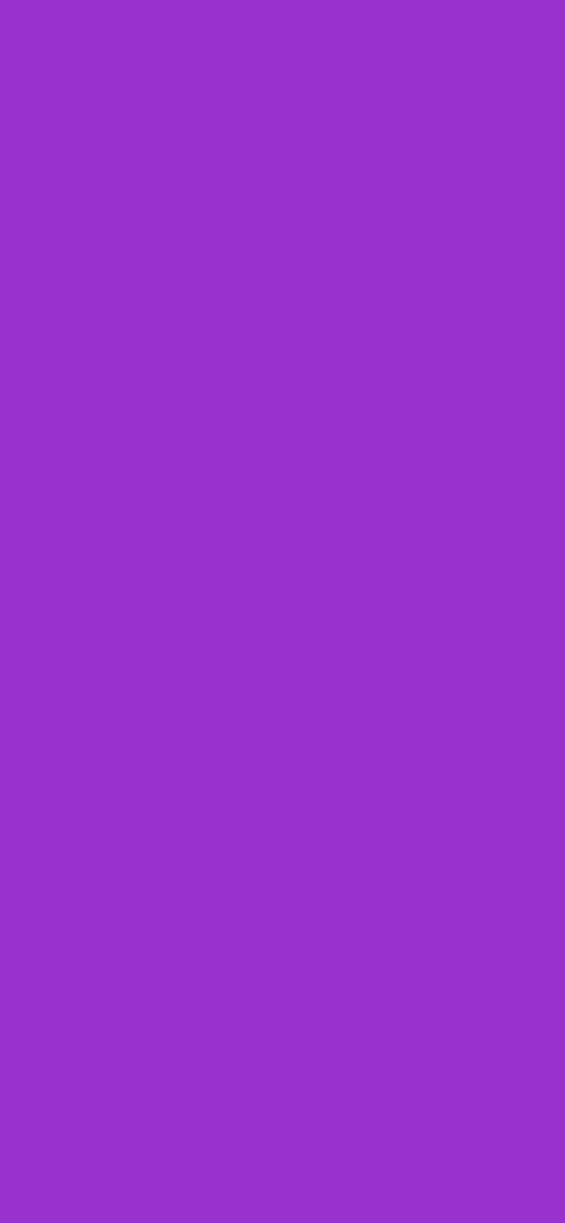 1125x2436 Dark Orchid Solid Color Background