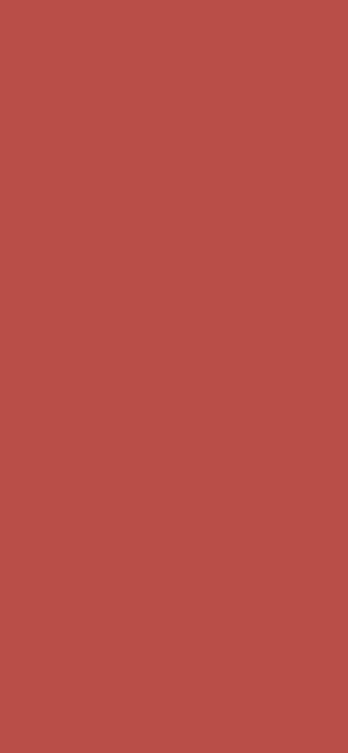 1125x2436 Deep Chestnut Solid Color Background
