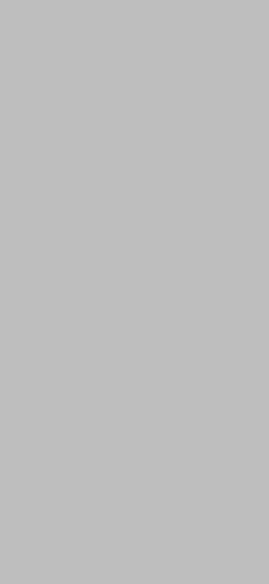 1125x2436 Gray X11 Gui Gray Solid Color Background