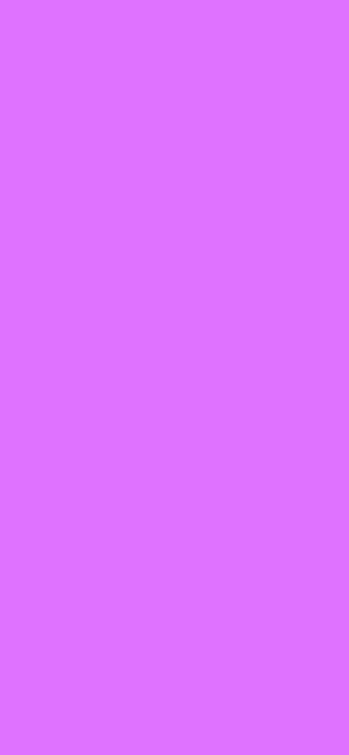 1125x2436 Heliotrope Solid Color Background