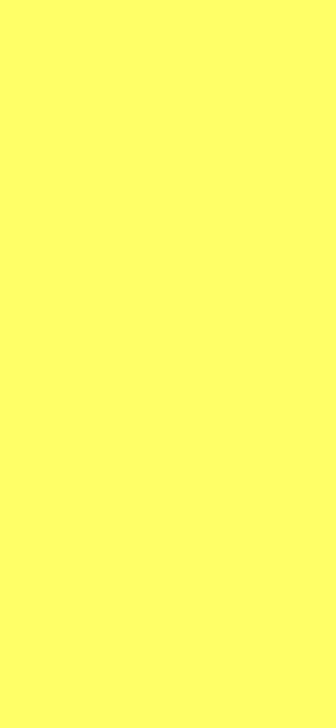 1125x2436 Laser Lemon Solid Color Background