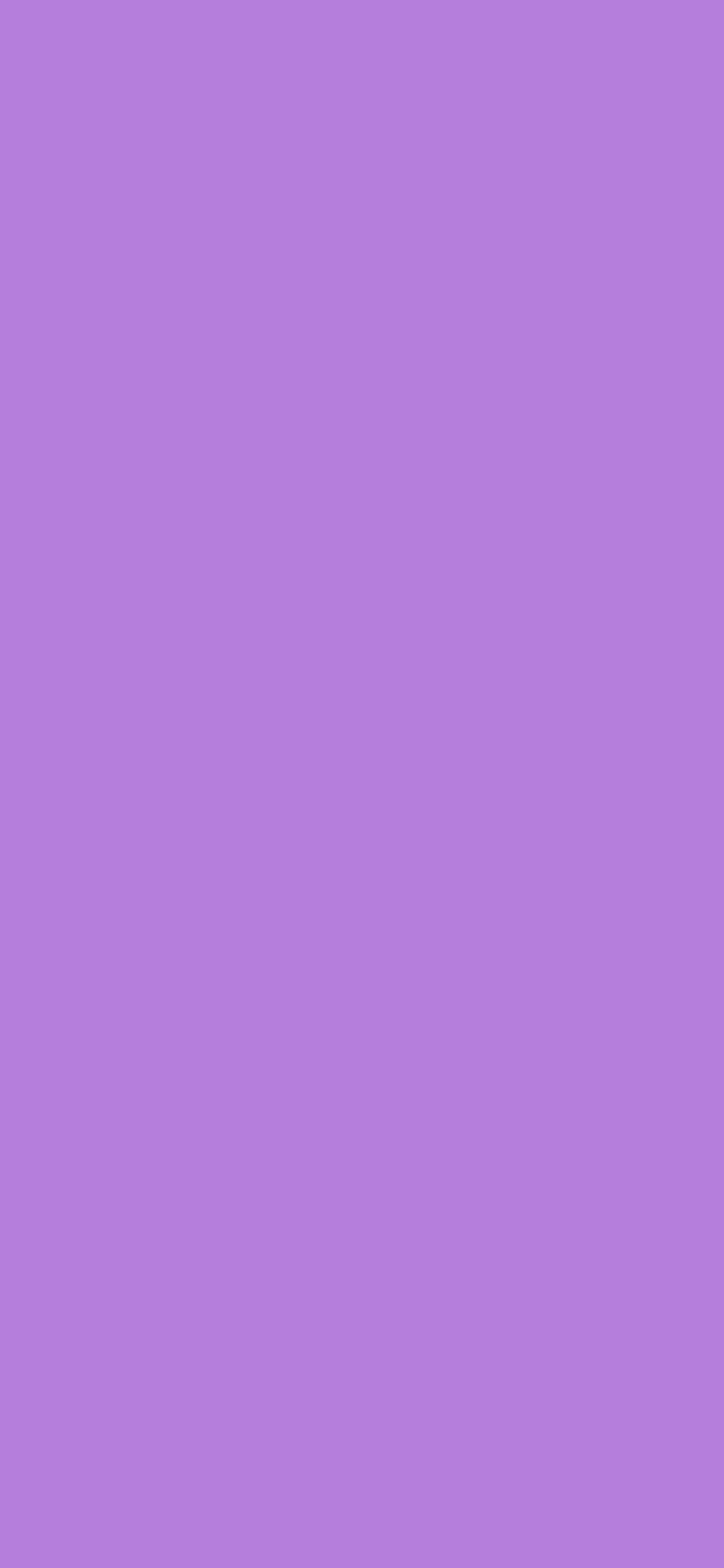 1125x2436 Lavender Floral Solid Color Background