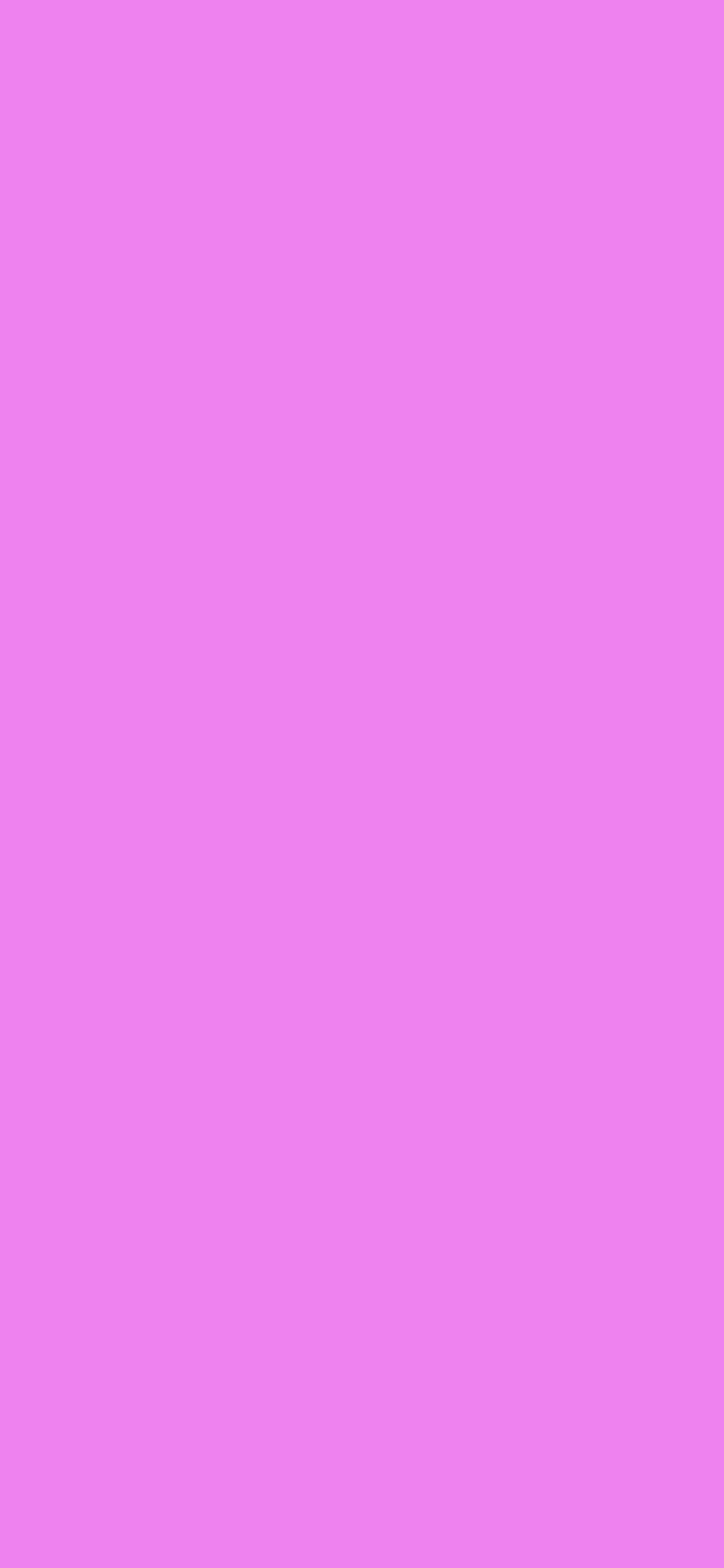 1125x2436 Lavender Magenta Solid Color Background