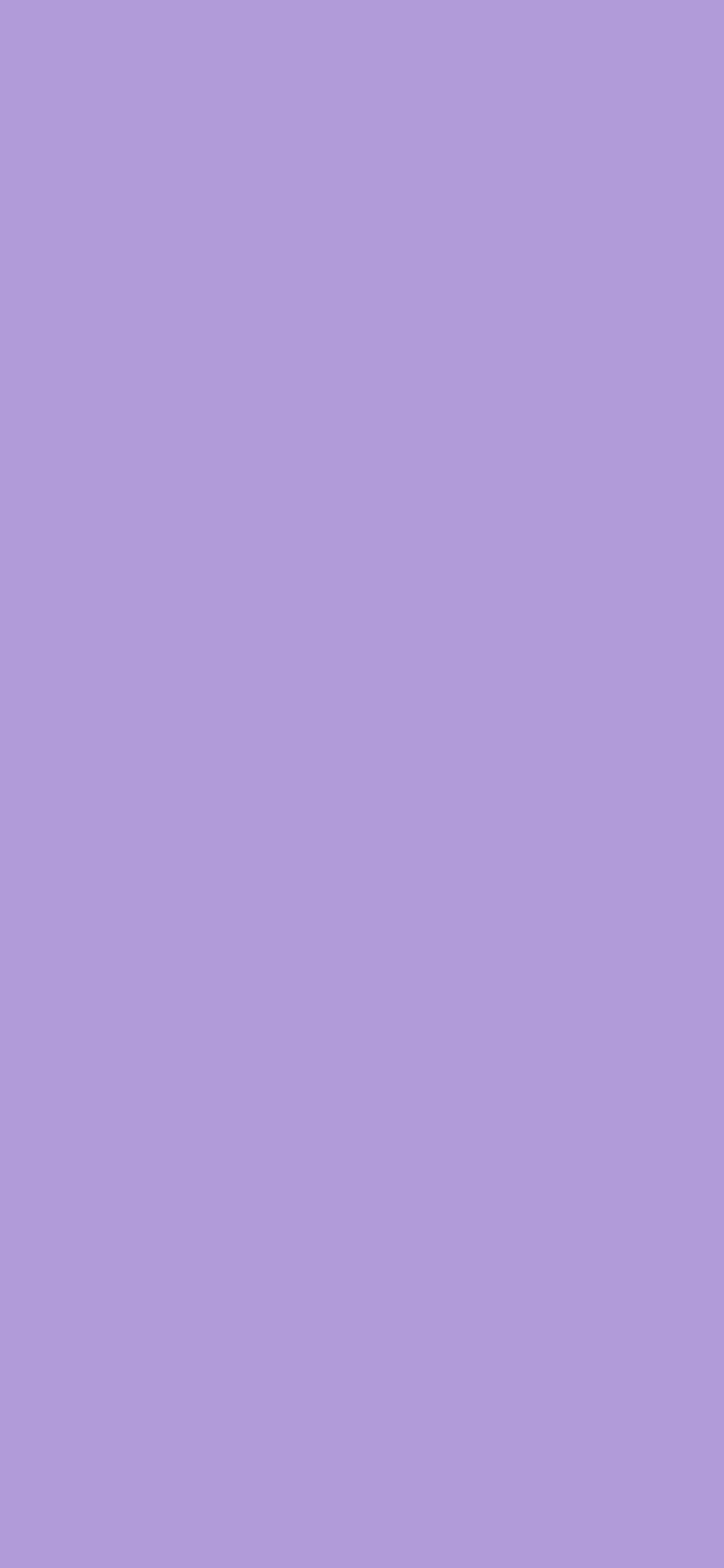 1125x2436 Light Pastel Purple Solid Color Background