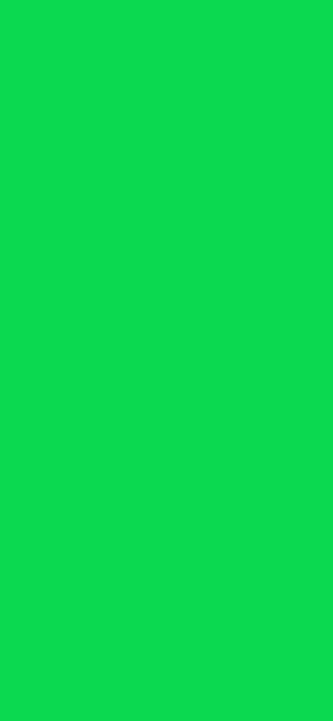 1125x2436 Malachite Solid Color Background