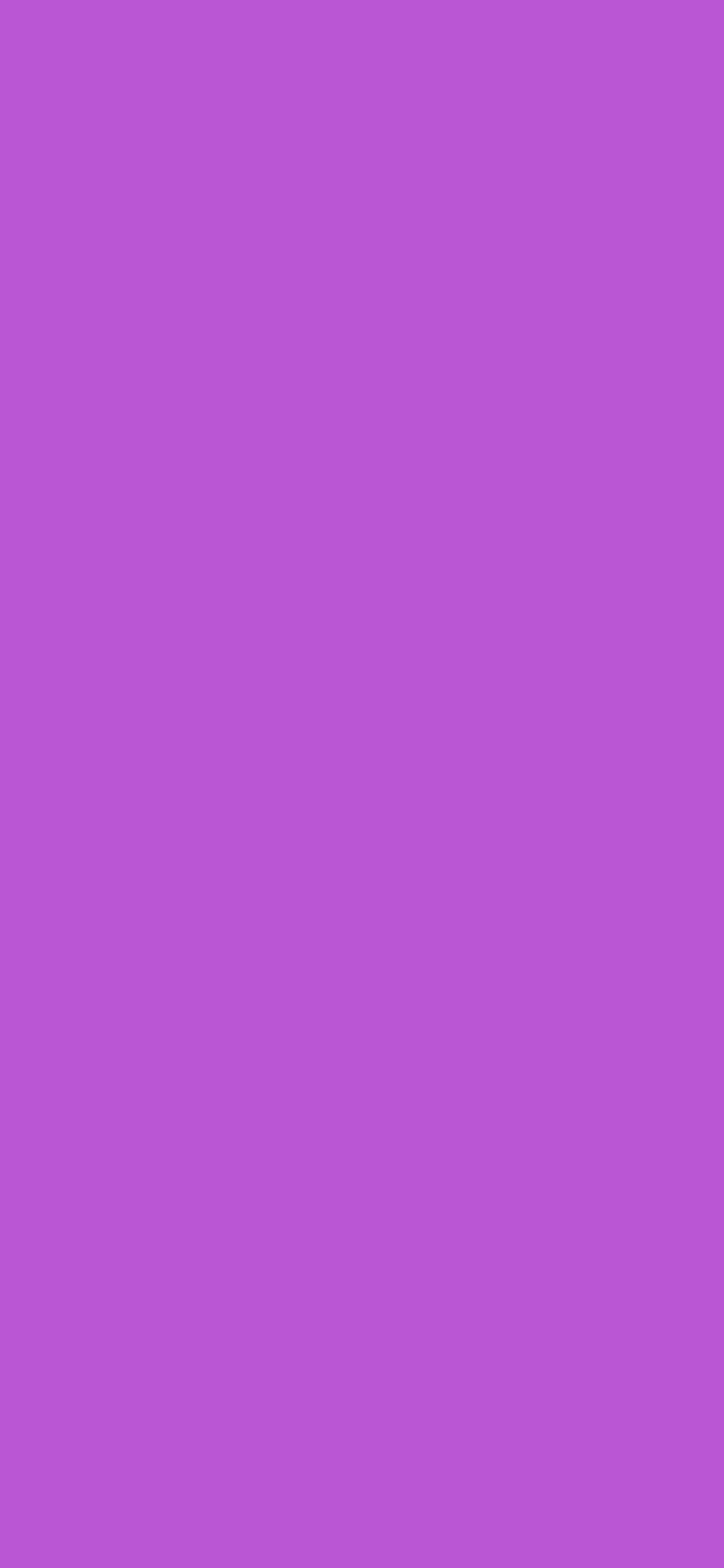 1125x2436 Medium Orchid Solid Color Background