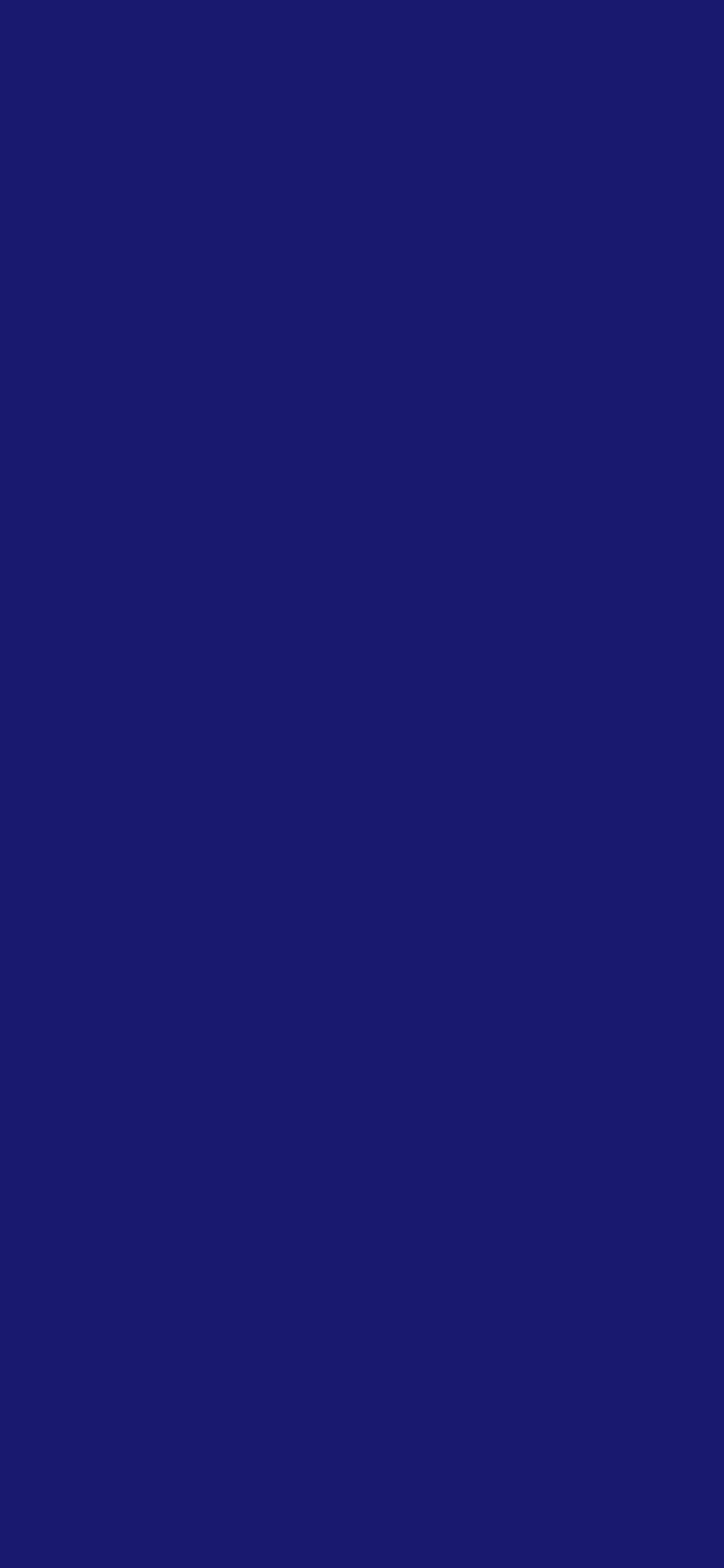 1125x2436 Midnight Blue Solid Color Background