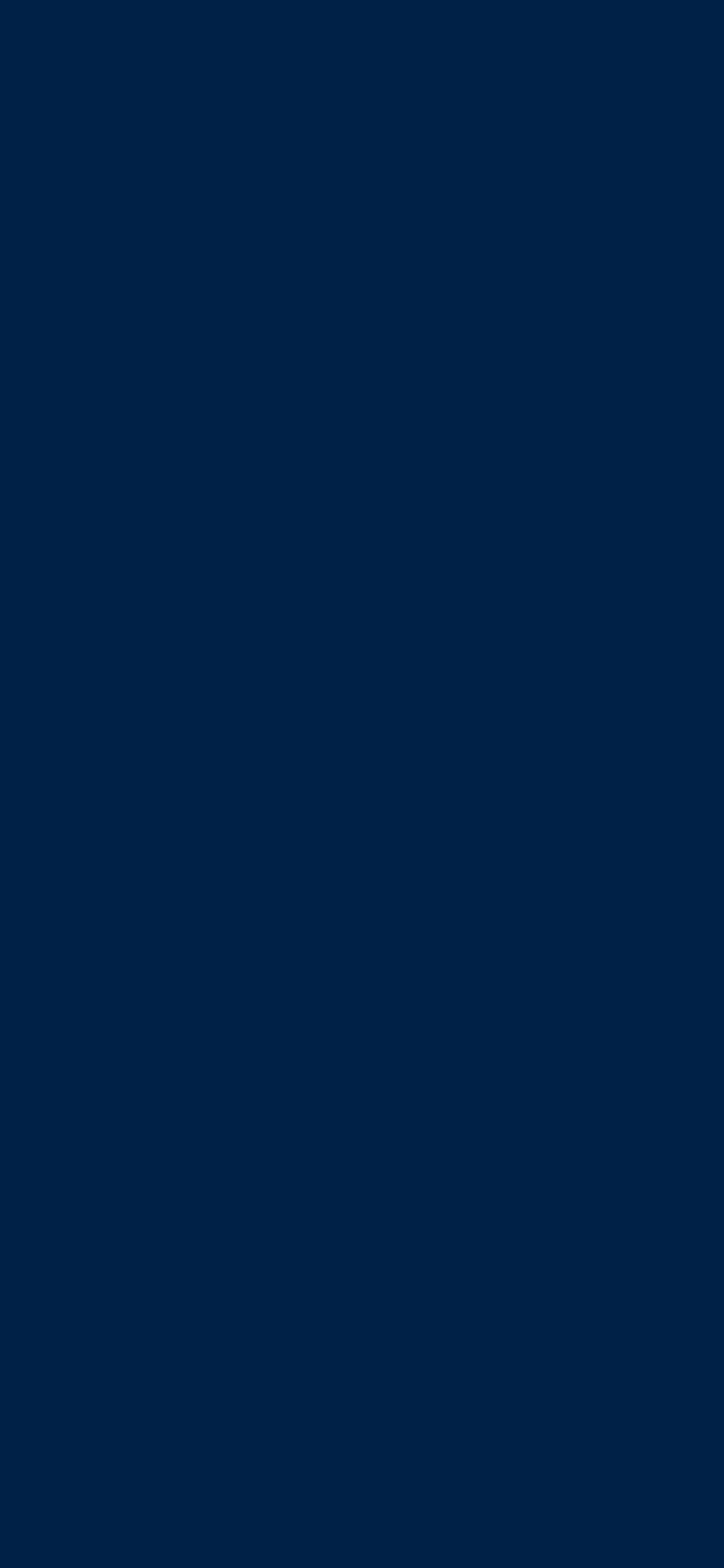 1125x2436 Oxford Blue Solid Color Background