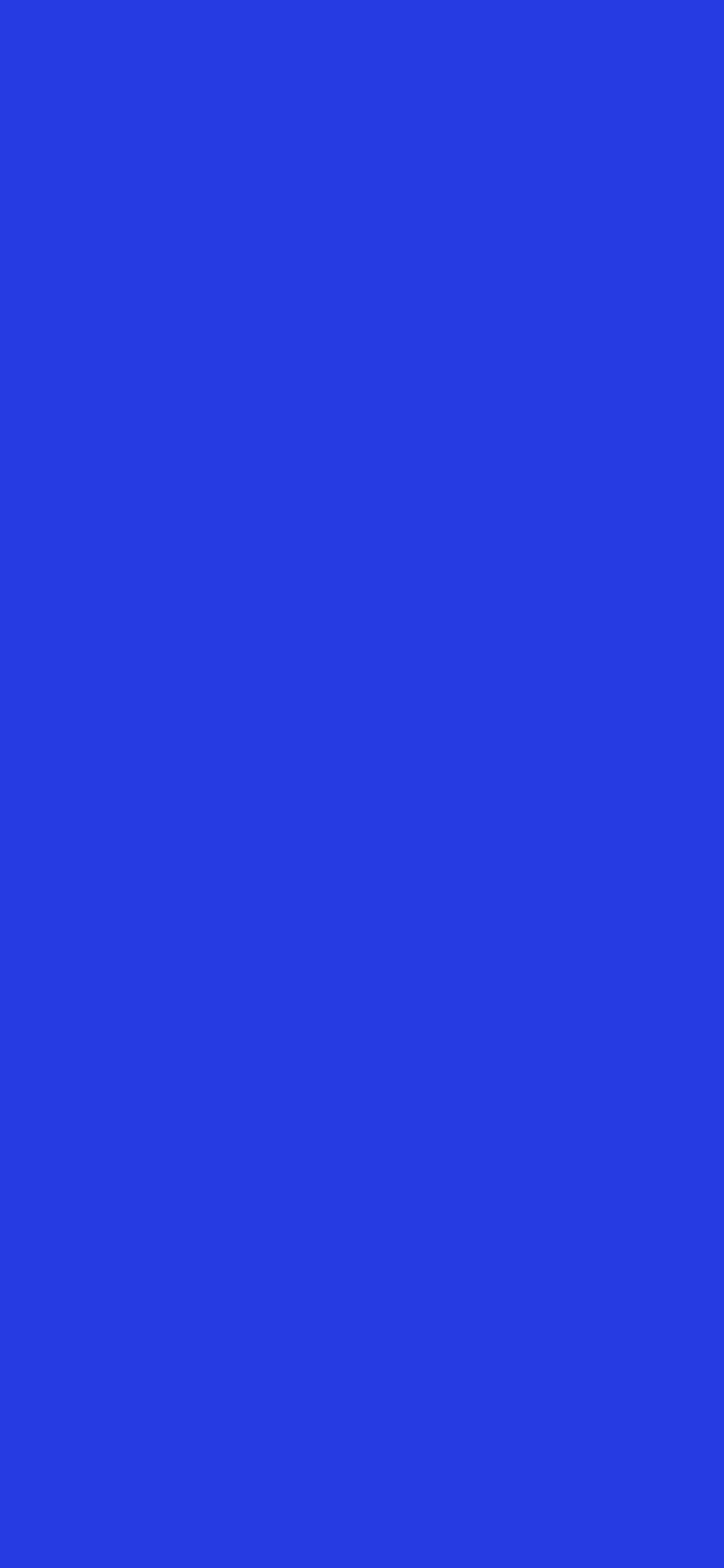 1125x2436 Palatinate Blue Solid Color Background