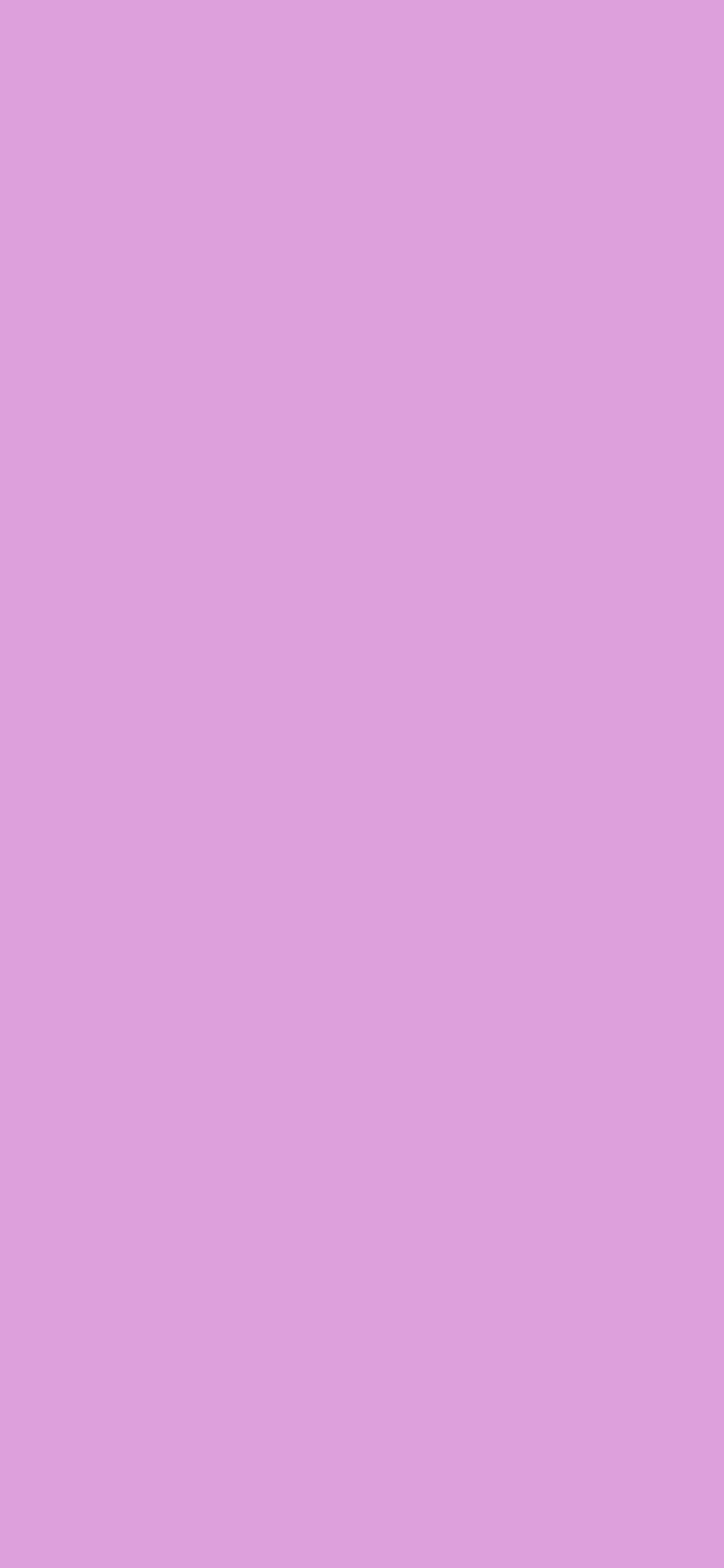 1125x2436 Pale Plum Solid Color Background