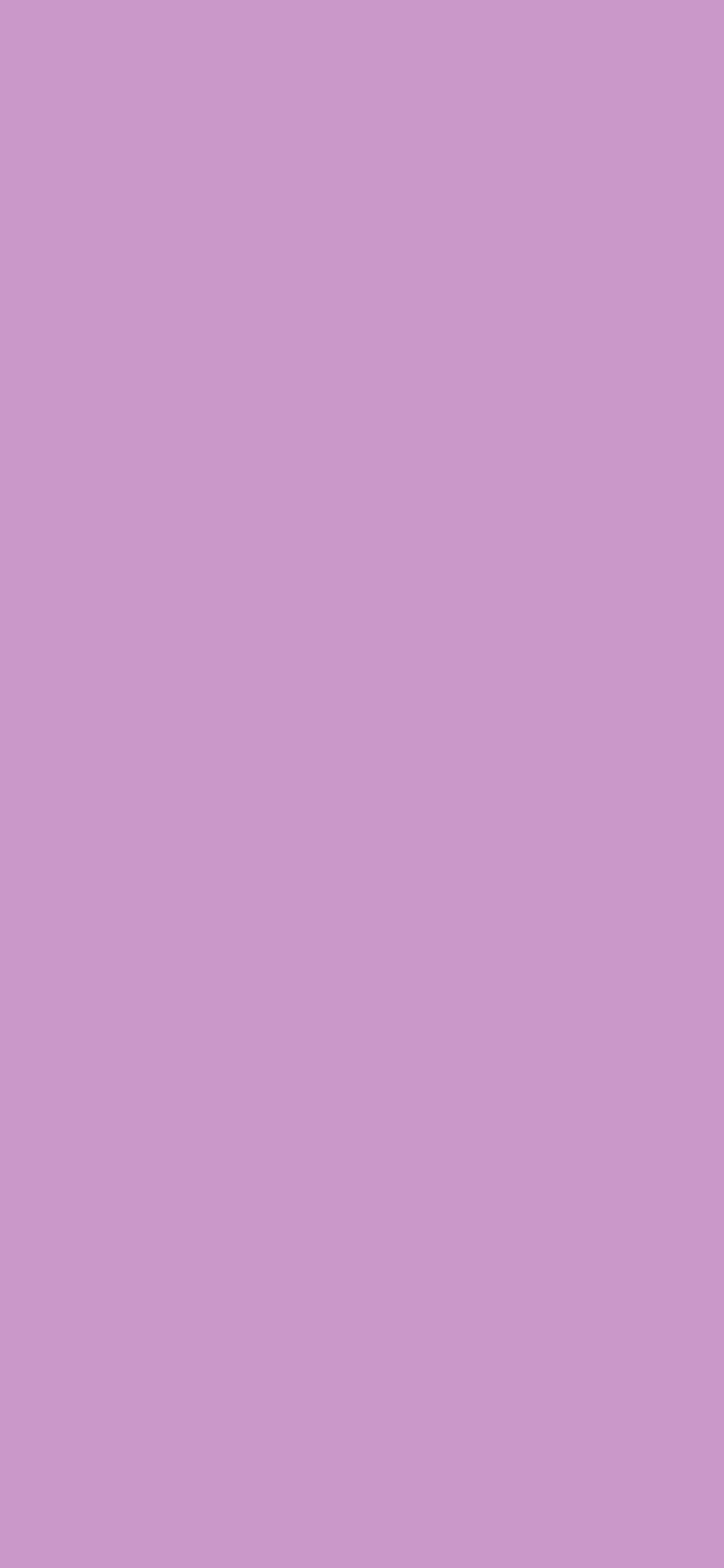 1125x2436 Pastel Violet Solid Color Background