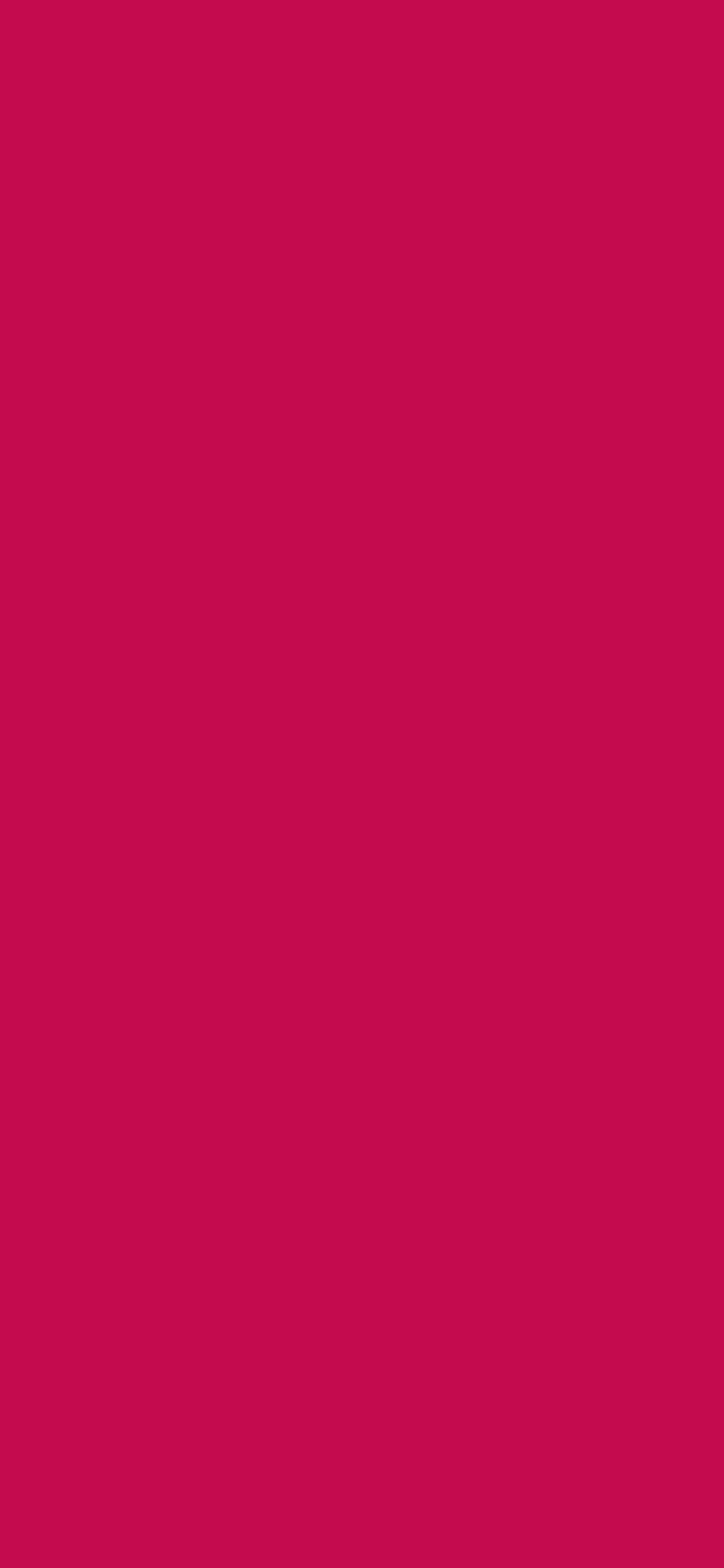 1125x2436 Pictorial Carmine Solid Color Background