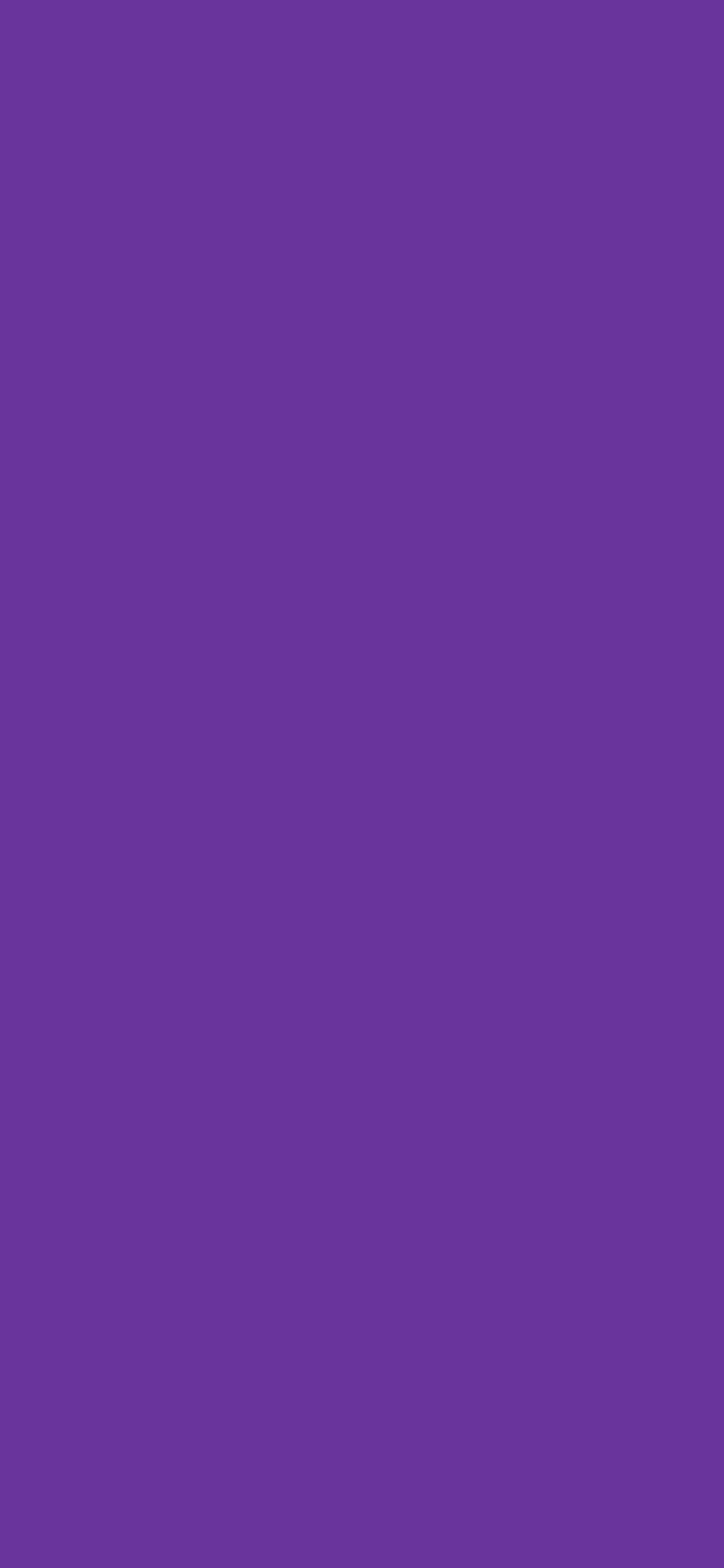 1125x2436 Purple Heart Solid Color Background