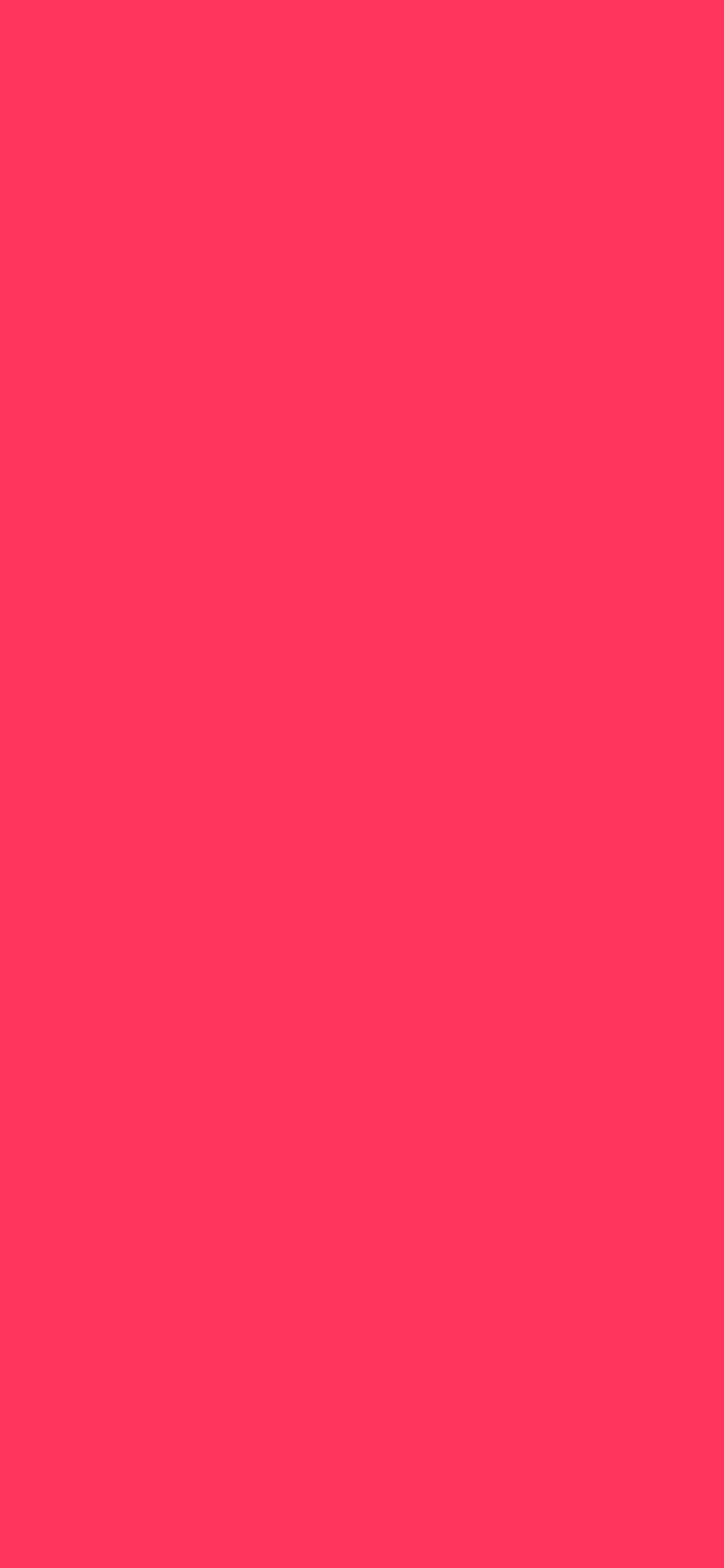 1125x2436 Radical Red Solid Color Background