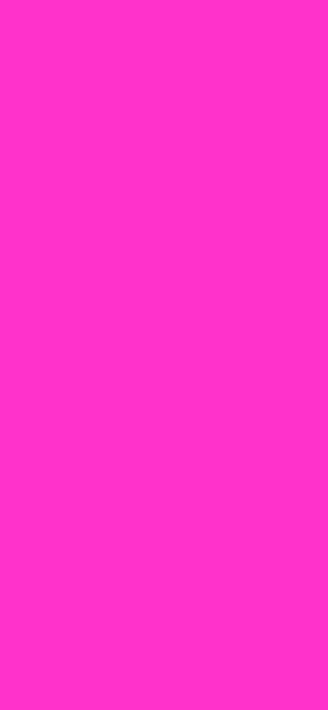 1125x2436 Razzle Dazzle Rose Solid Color Background