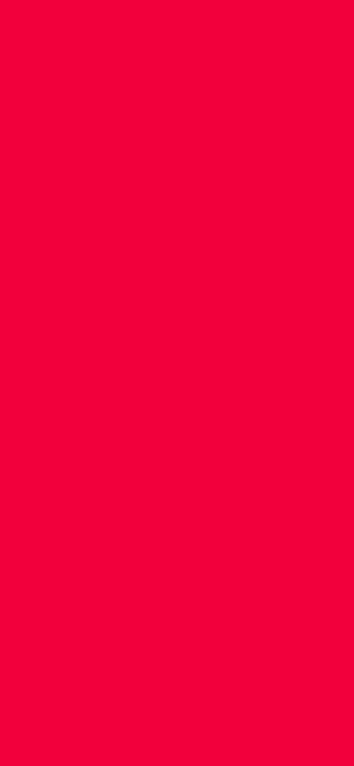 1125x2436 Red Munsell Solid Color Background