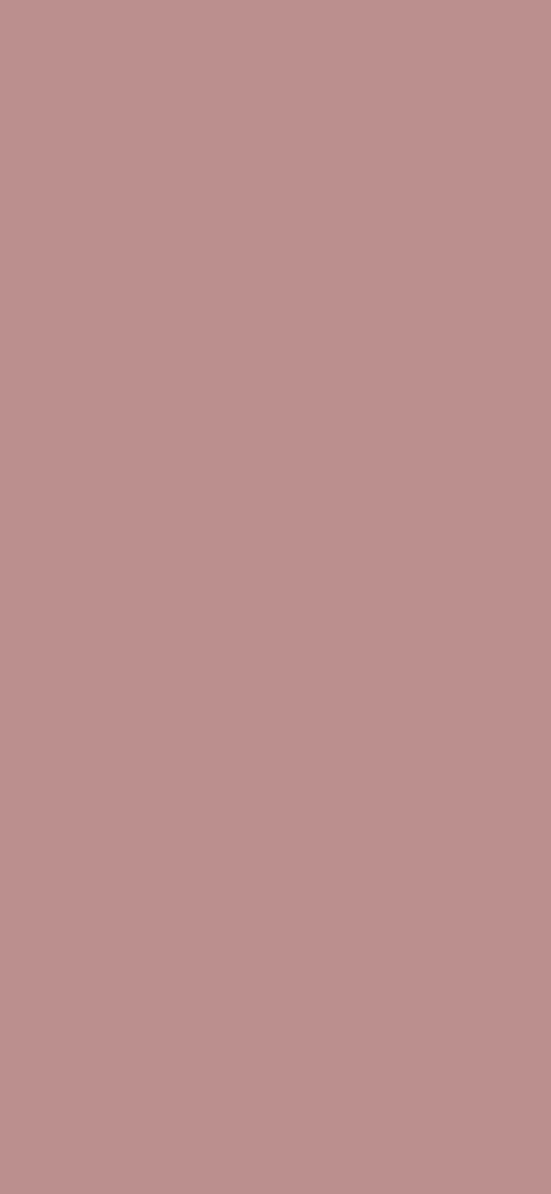 1125x2436 Rosy Brown Solid Color Background