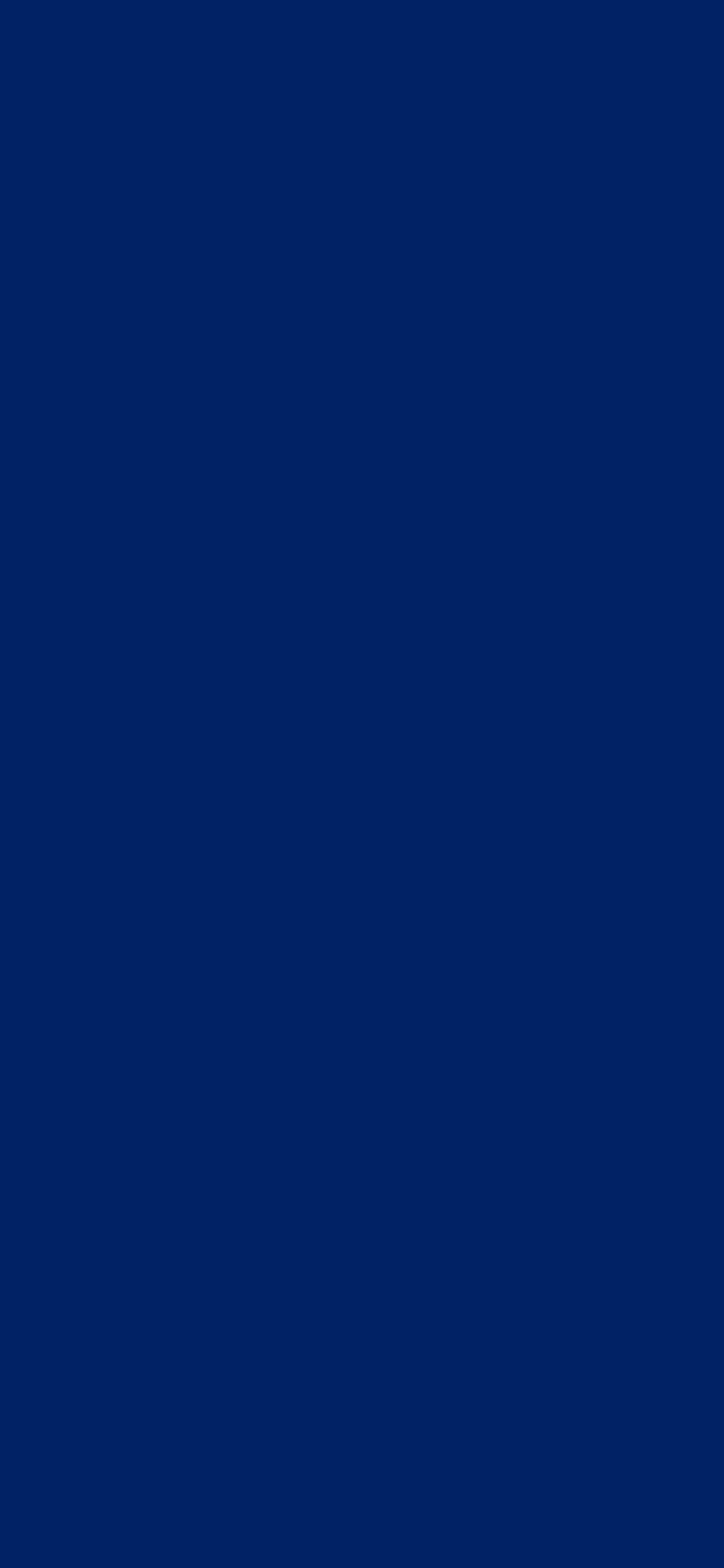 1125x2436 Royal Blue Traditional Solid Color Background