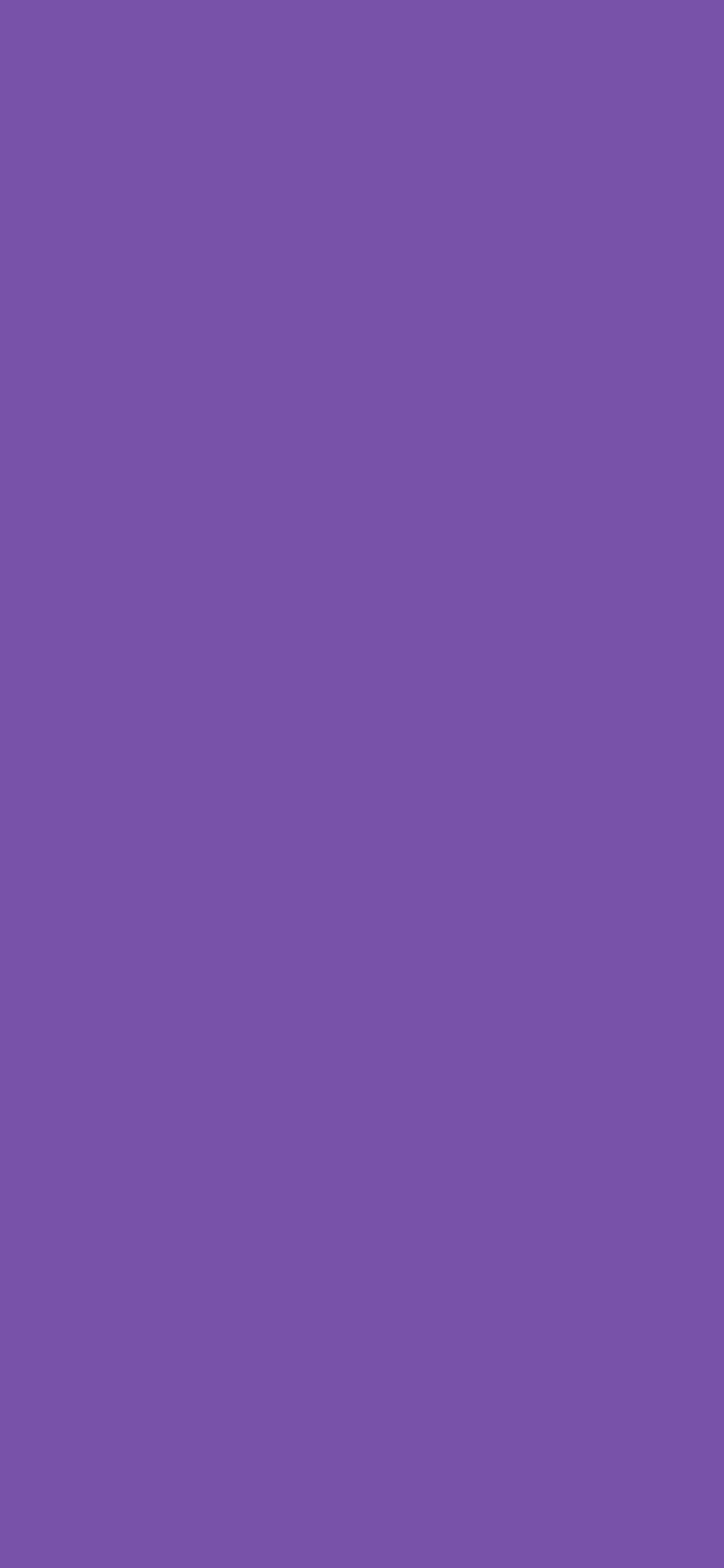 1125x2436 Royal Purple Solid Color Background