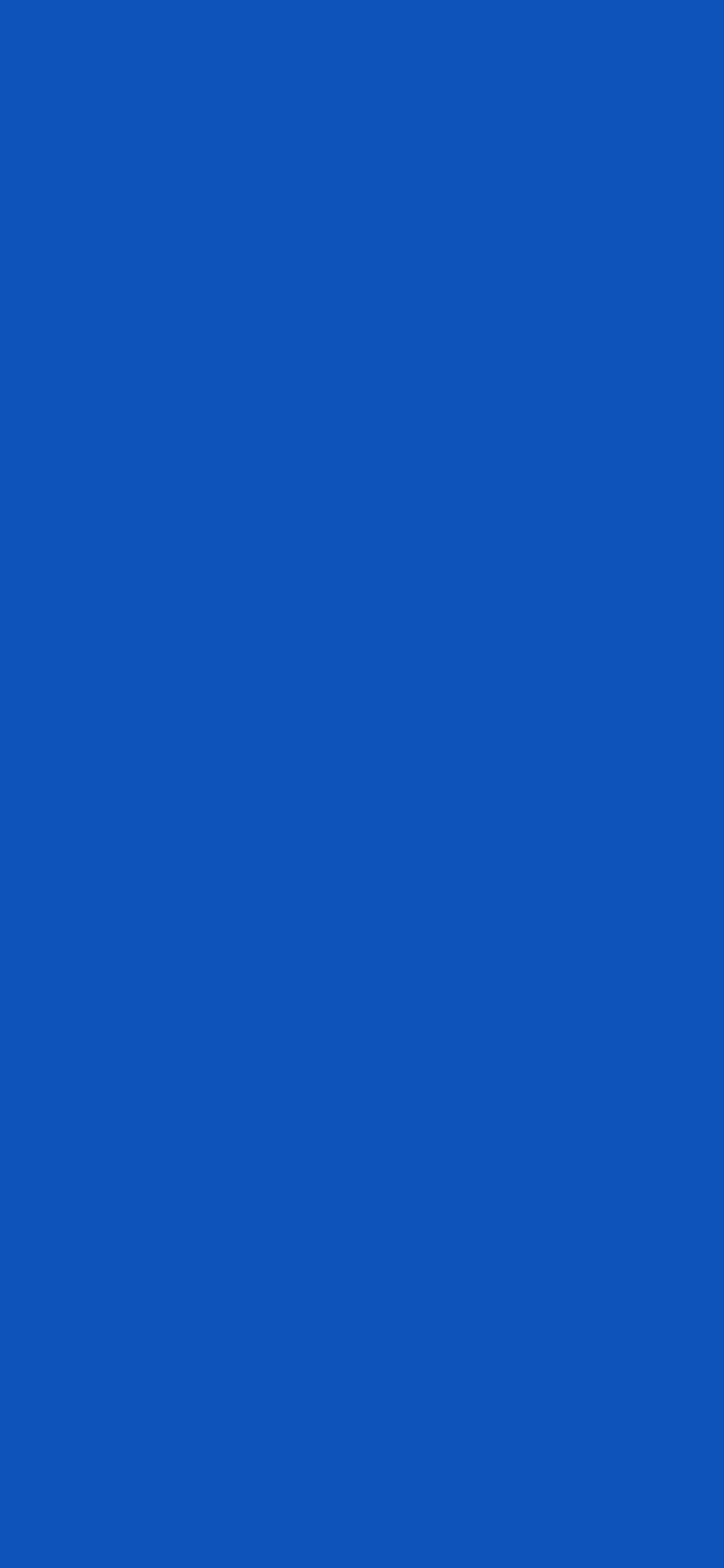 1125x2436 Sapphire Solid Color Background