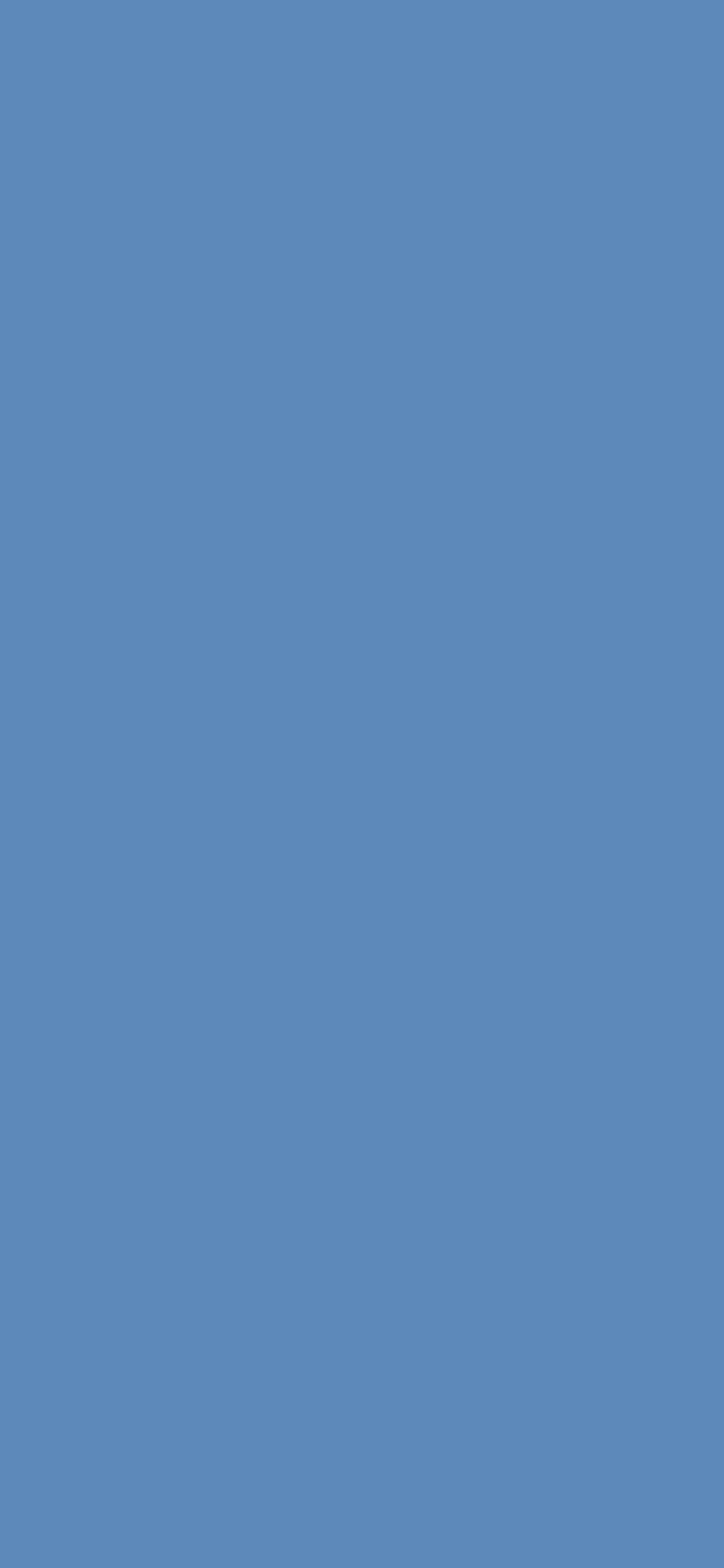 1125x2436 Silver Lake Blue Solid Color Background