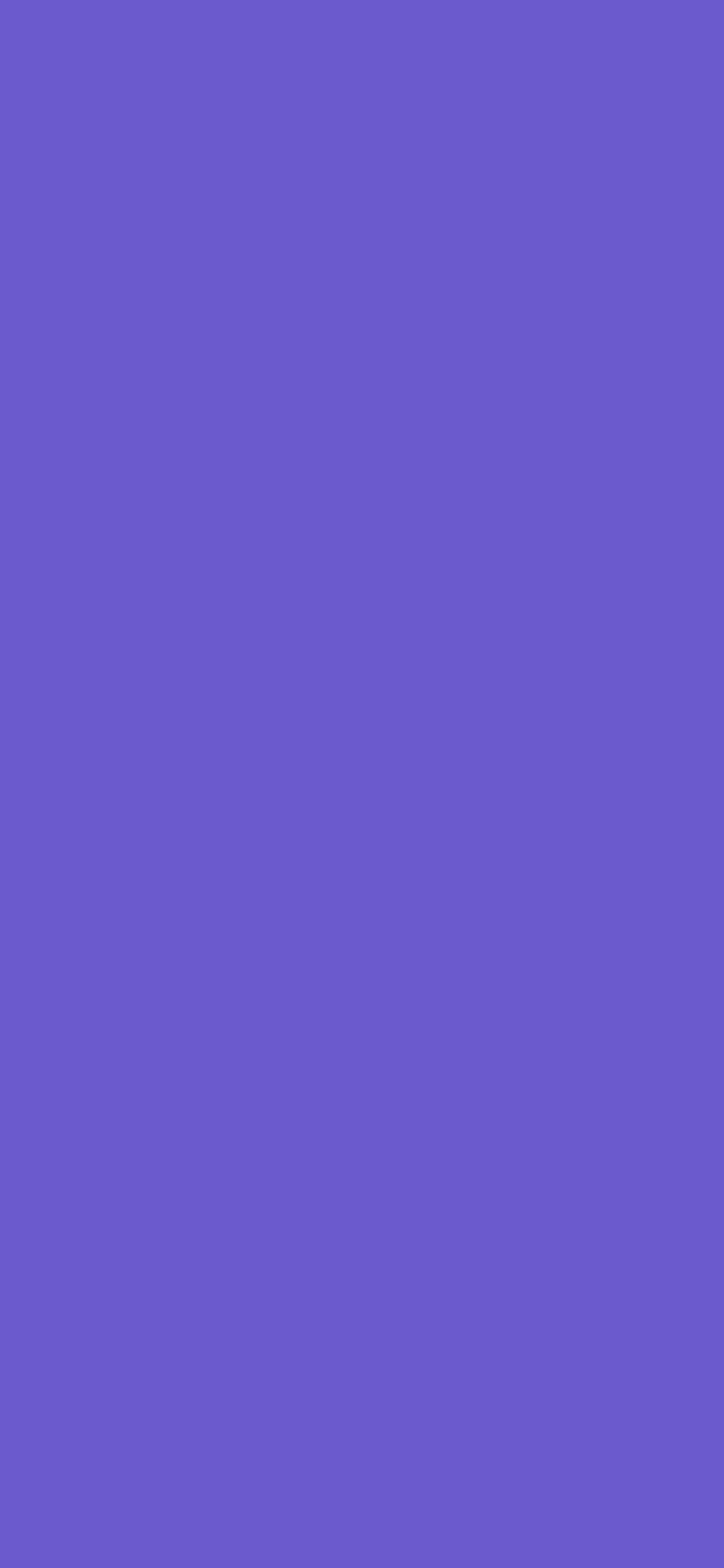 1125x2436 Slate Blue Solid Color Background