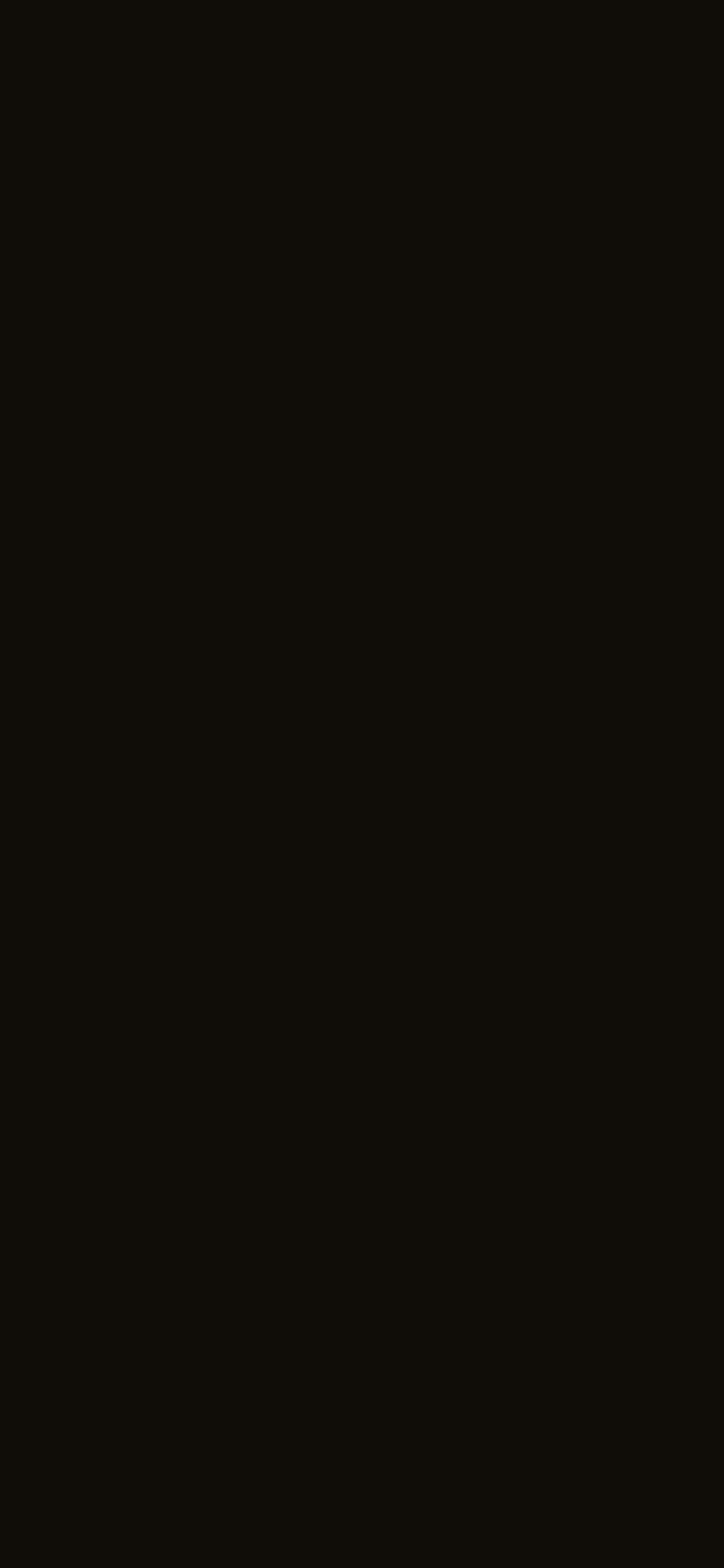 1125x2436 Smoky Black Solid Color Background