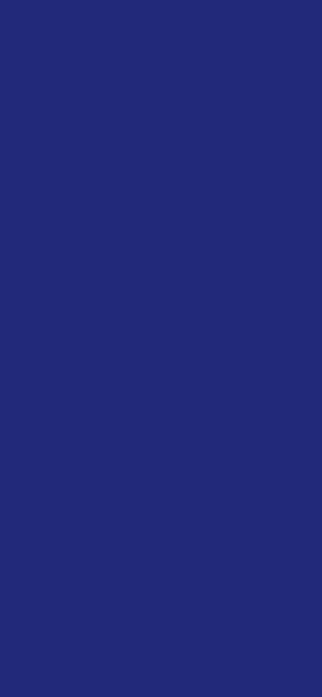 1125x2436 St Patricks Blue Solid Color Background