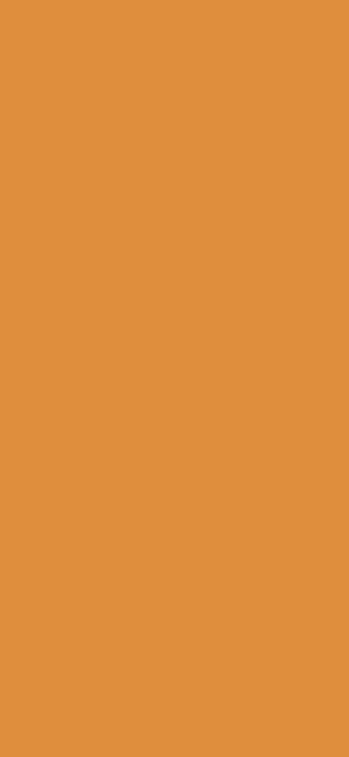 1125x2436 Tigers Eye Solid Color Background