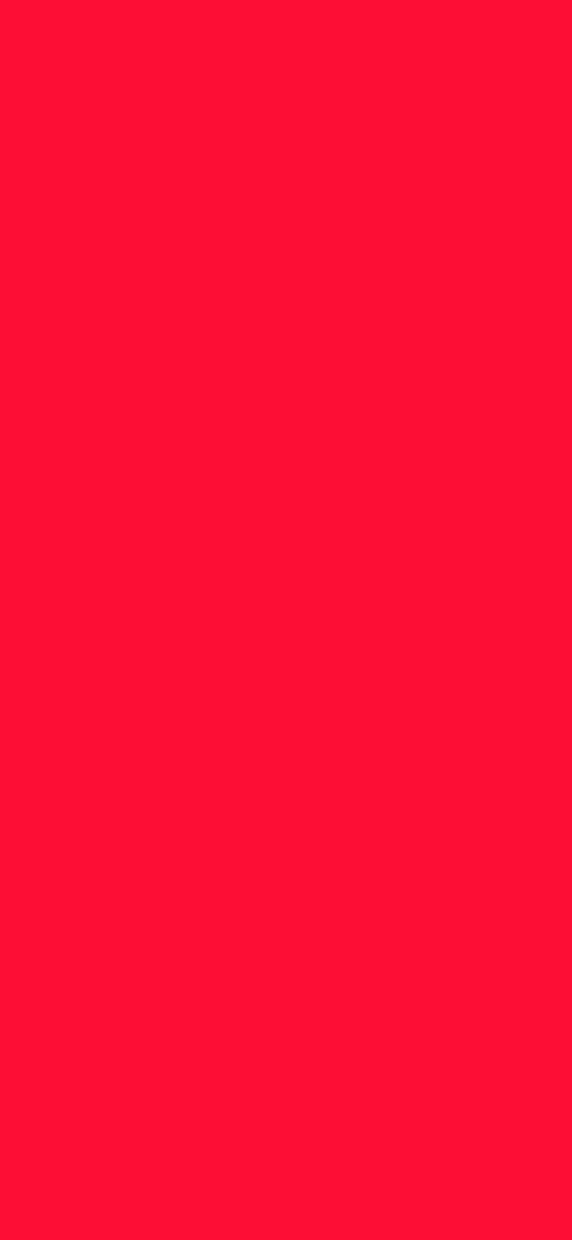 1125x2436 Tractor Red Solid Color Background