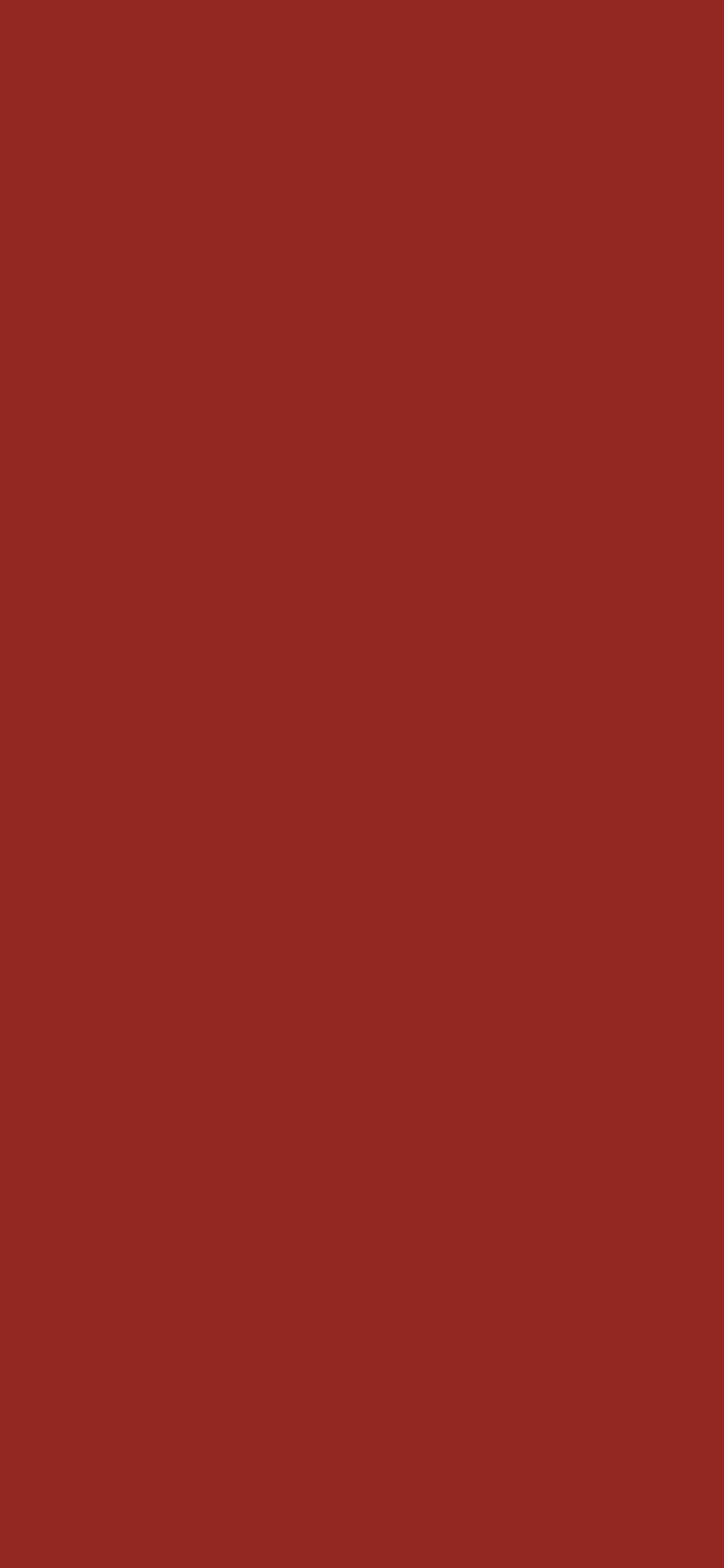 1125x2436 Vivid Auburn Solid Color Background