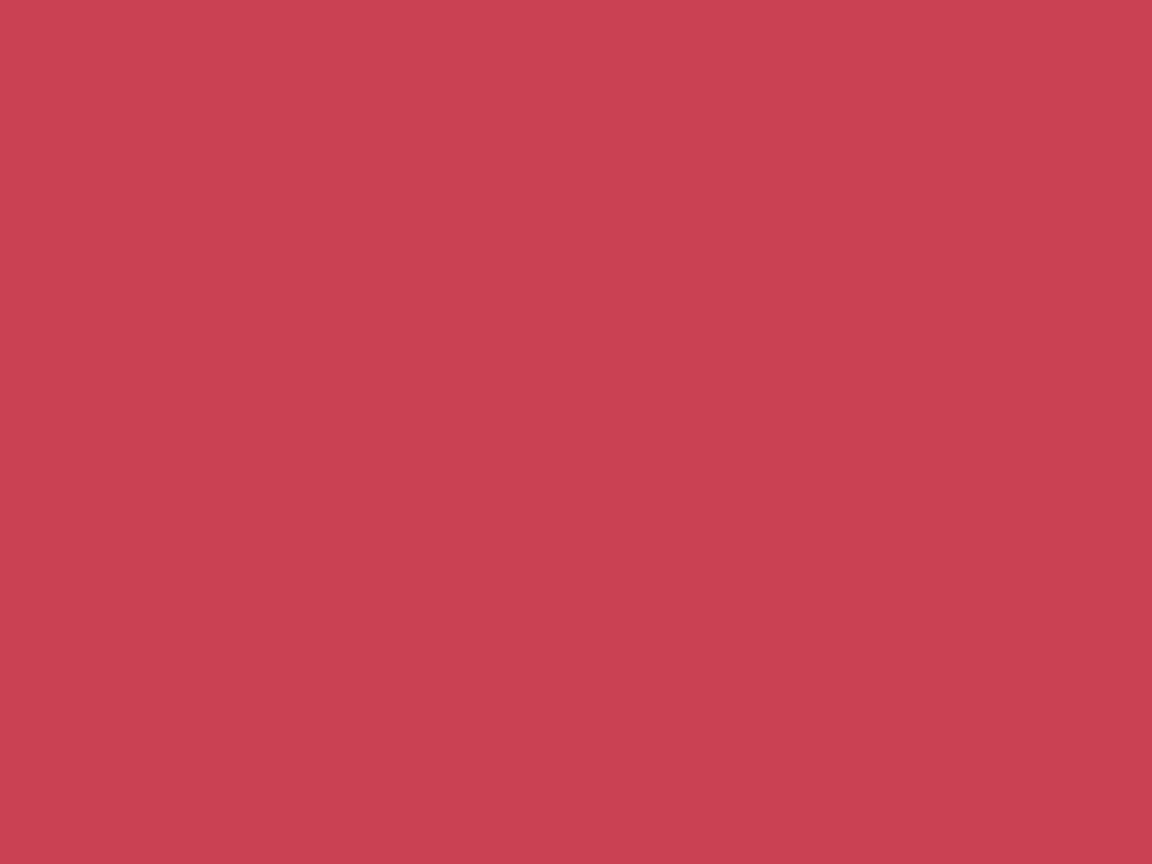 1152x864 Brick Red Solid Color Background
