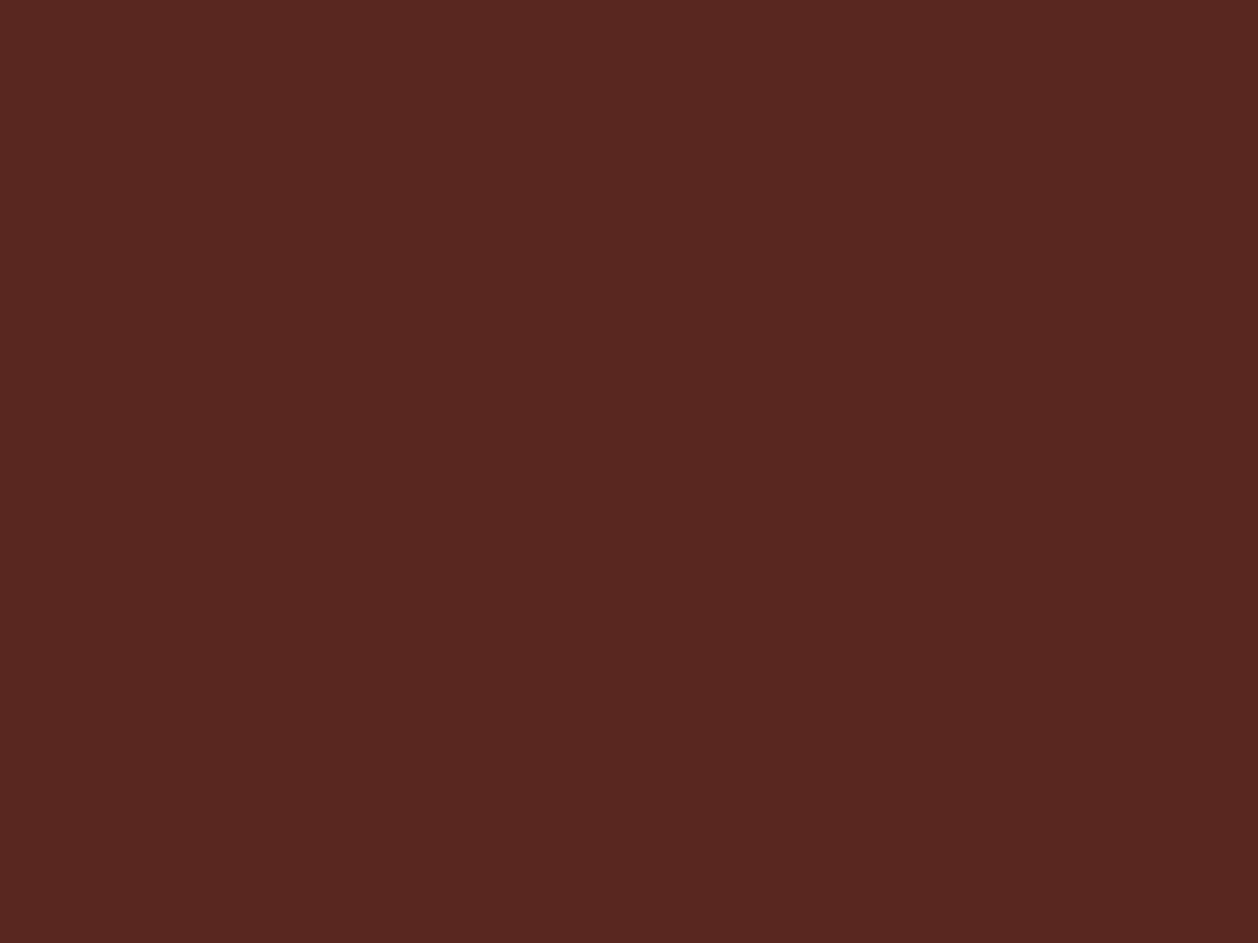 1152x864 Caput Mortuum Solid Color Background