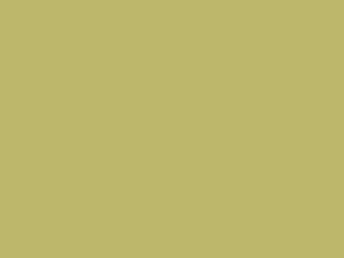 1152x864 Dark Khaki Solid Color Background