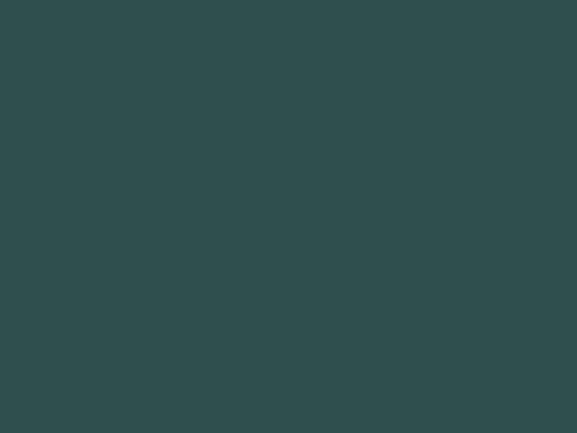 1152x864 Dark Slate Gray Solid Color Background