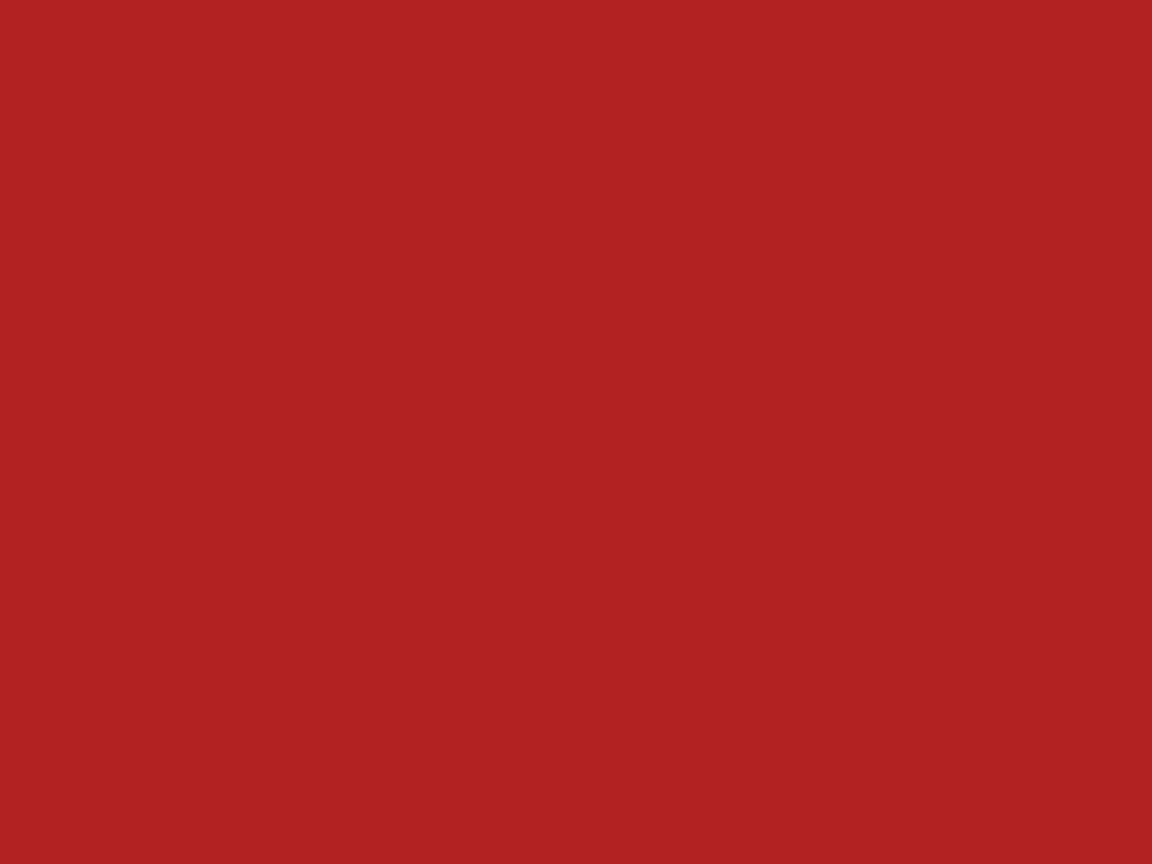 1152x864 Firebrick Solid Color Background