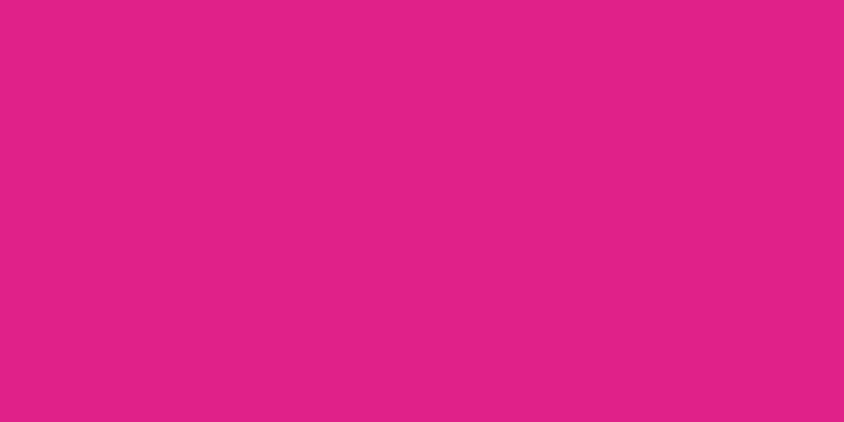 1200x600 Barbie Pink Solid Color Background
