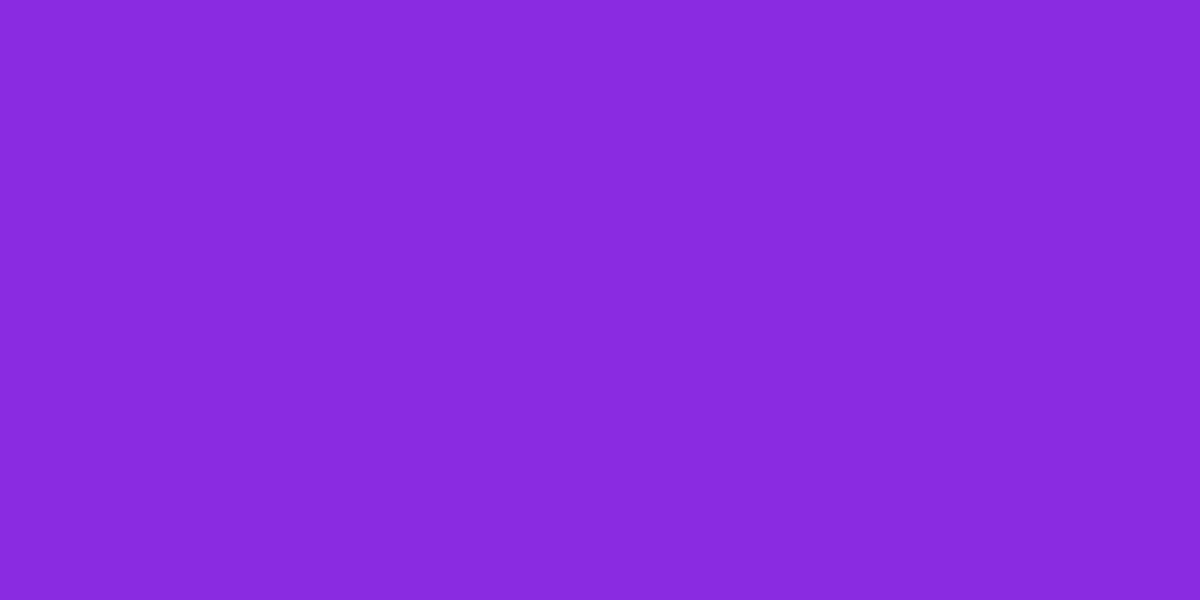 1200x600 Blue-violet Solid Color Background