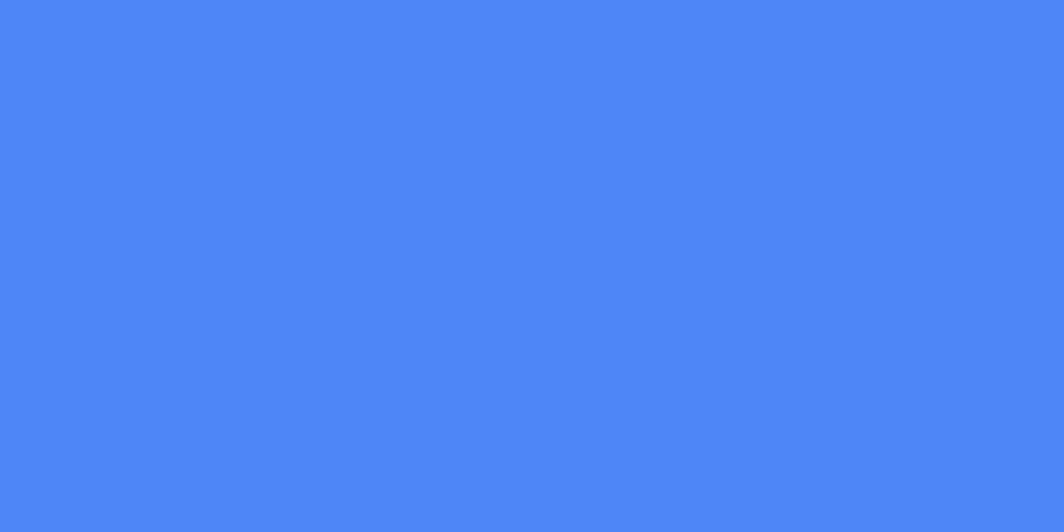 1200x600 Blueberry Solid Color Background