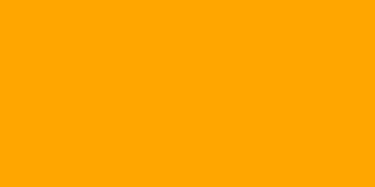 1200x600 Chrome Yellow Solid Color Background