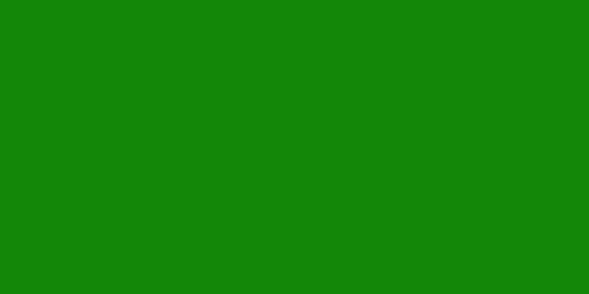 1200x600 India Green Solid Color Background