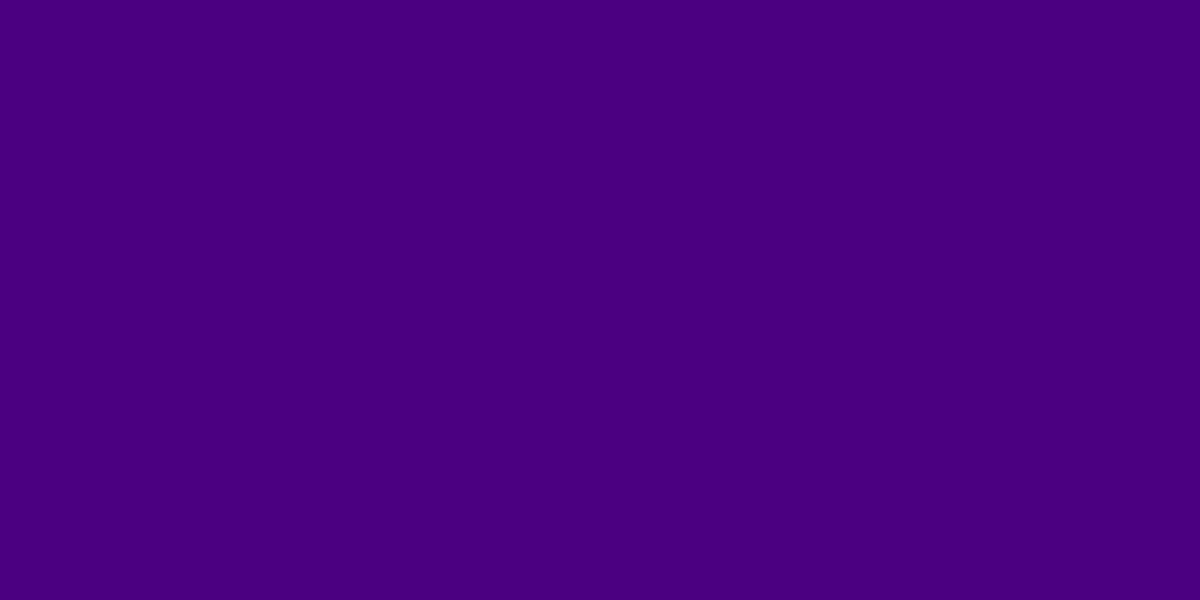 1200x600 Indigo Web Solid Color Background