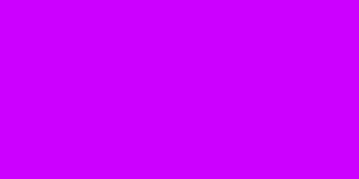 1200x600 Vivid Orchid Solid Color Background