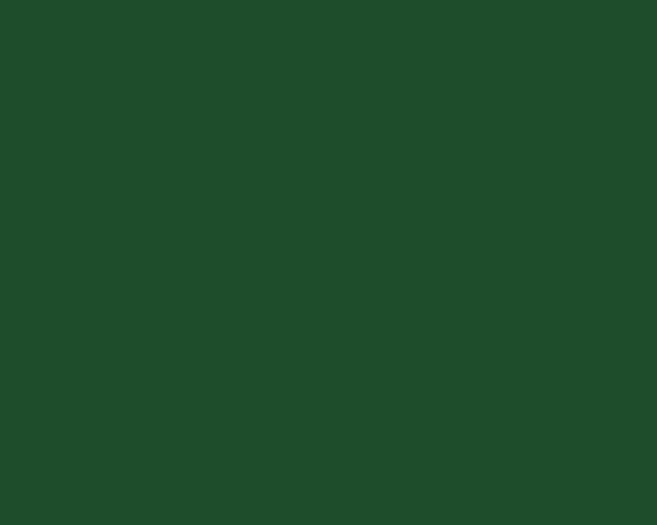 1280x1024 Cal Poly Green Solid Color Background