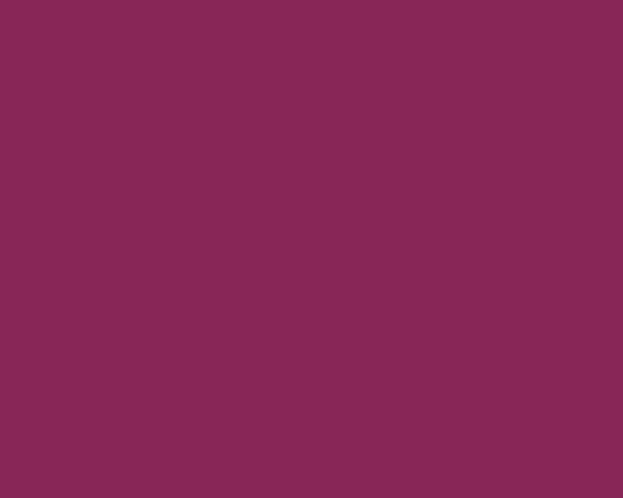 1280x1024 Dark Raspberry Solid Color Background